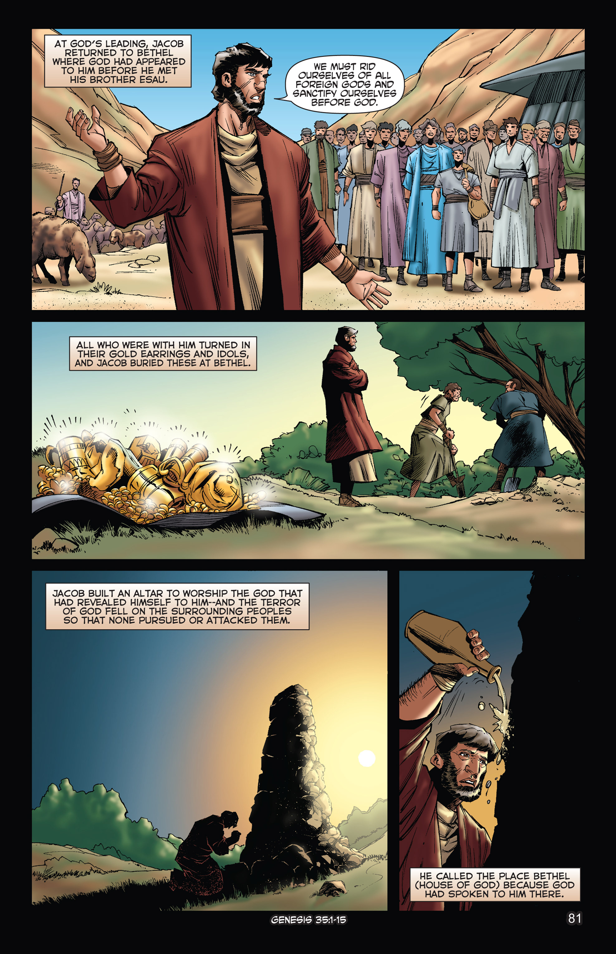 Comic The Kingstone Bible issue 2