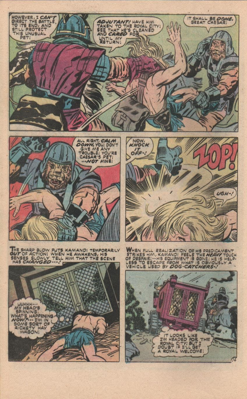 Kamandi, The Last Boy On Earth issue 32 - Page 45
