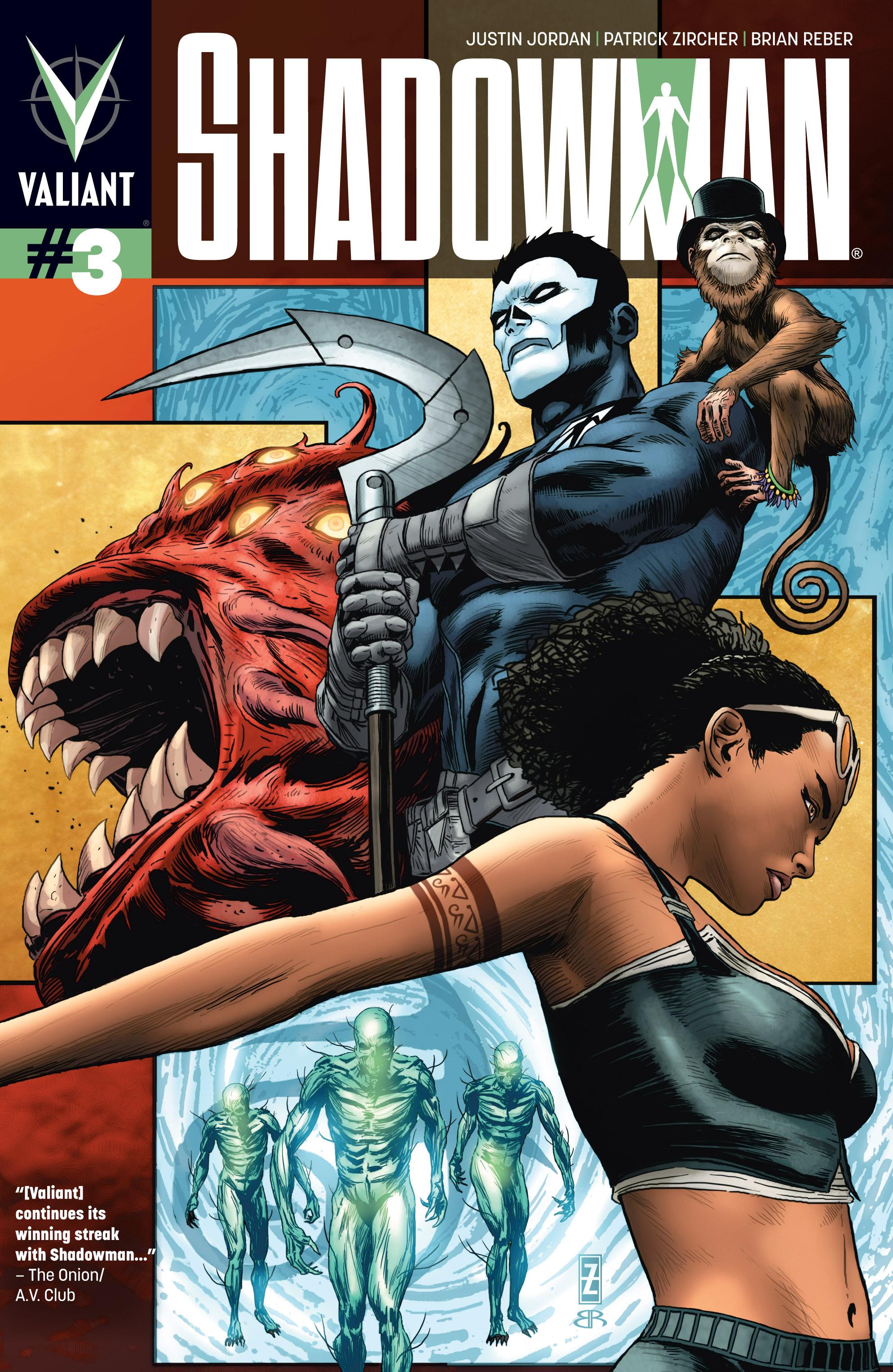 Read online Shadowman (2012) comic -  Issue #3 - 1