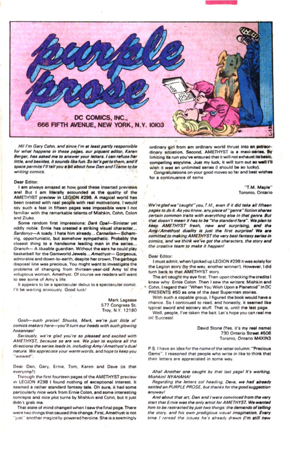 Read online Amethyst, Princess of Gemworld comic -  Issue #3 - 25