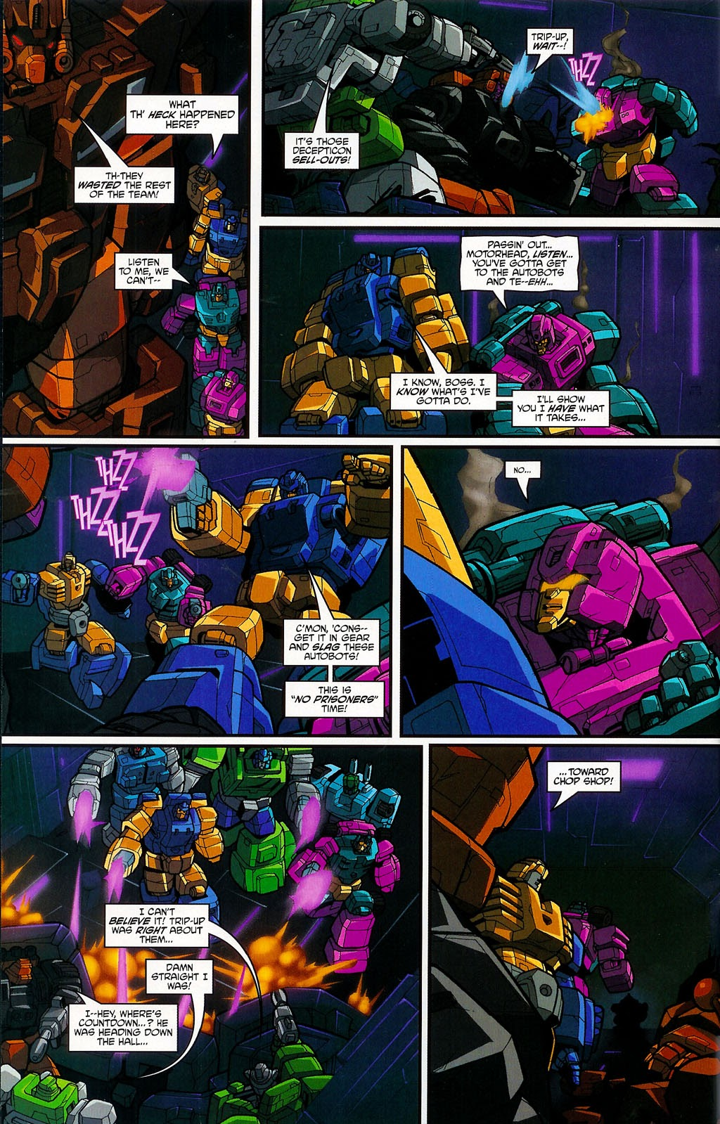 Read online Transformers: Micromasters comic -  Issue #4 - 15