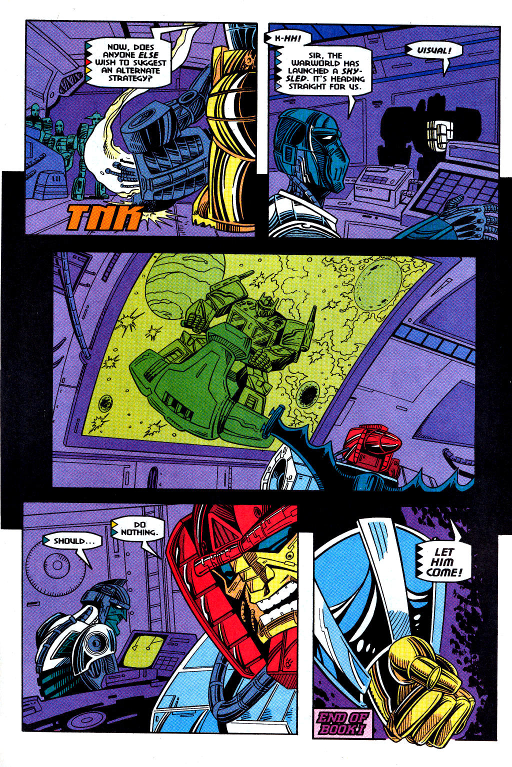 Read online Transformers: Generation 2 comic -  Issue #12 - 11