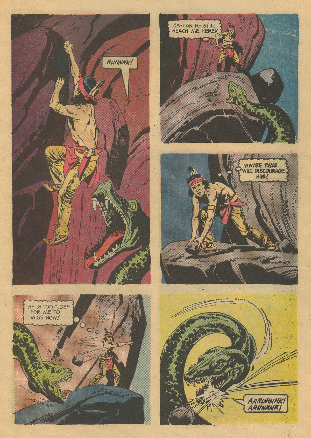 Read online Turok, Son of Stone comic -  Issue #31 - 31