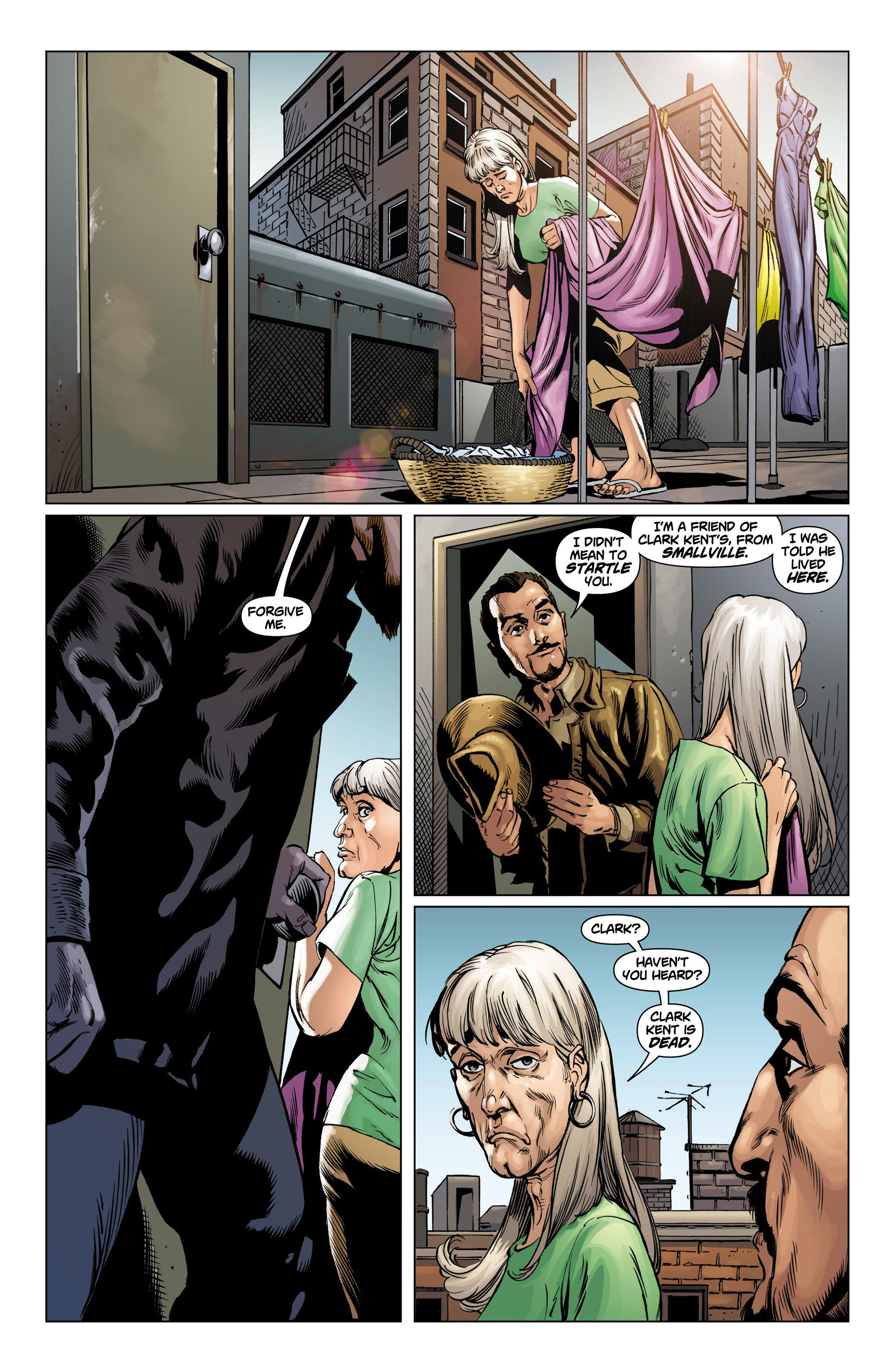 Read online Action Comics (2011) comic -  Issue #10 - 16