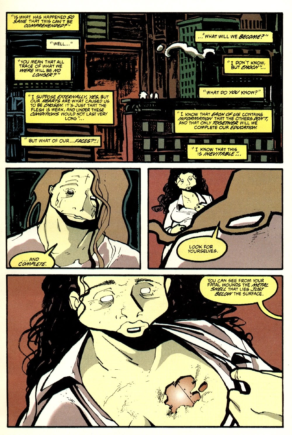 Read online Ted McKeever's Metropol comic -  Issue #8 - 7