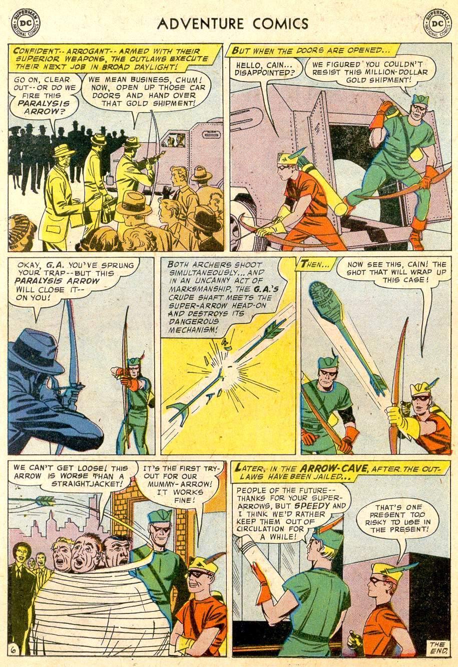 Read online Adventure Comics (1938) comic -  Issue #251 - 22