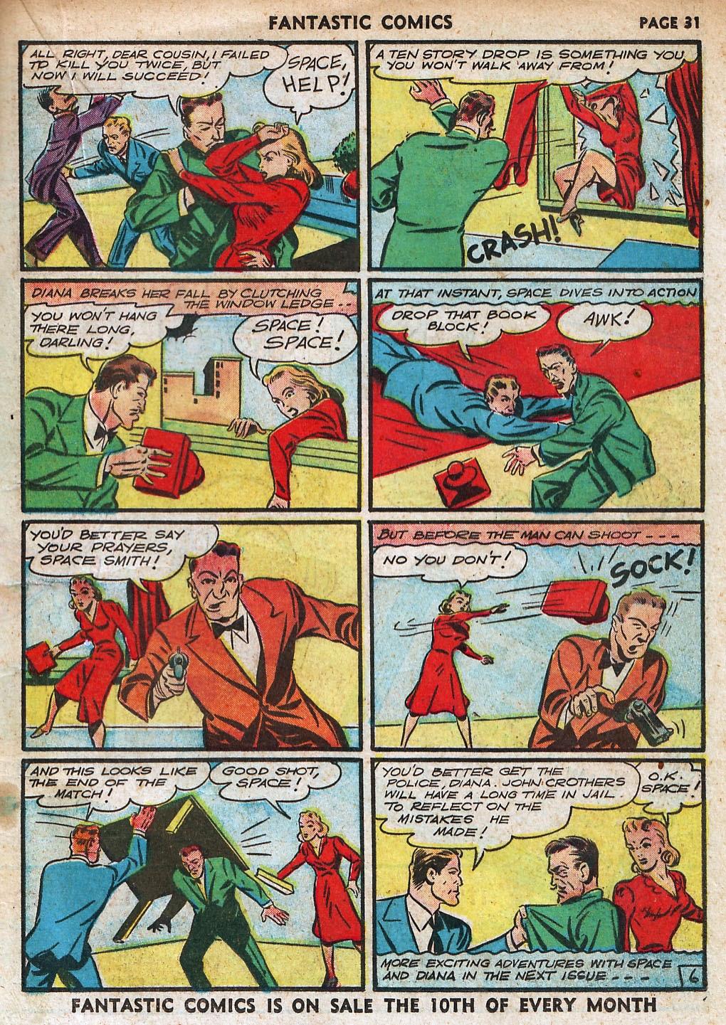 Read online Fantastic Comics comic -  Issue #18 - 33