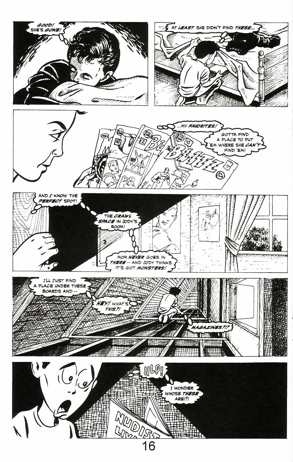 Read online A Touch of Silver comic -  Issue #2 - 18