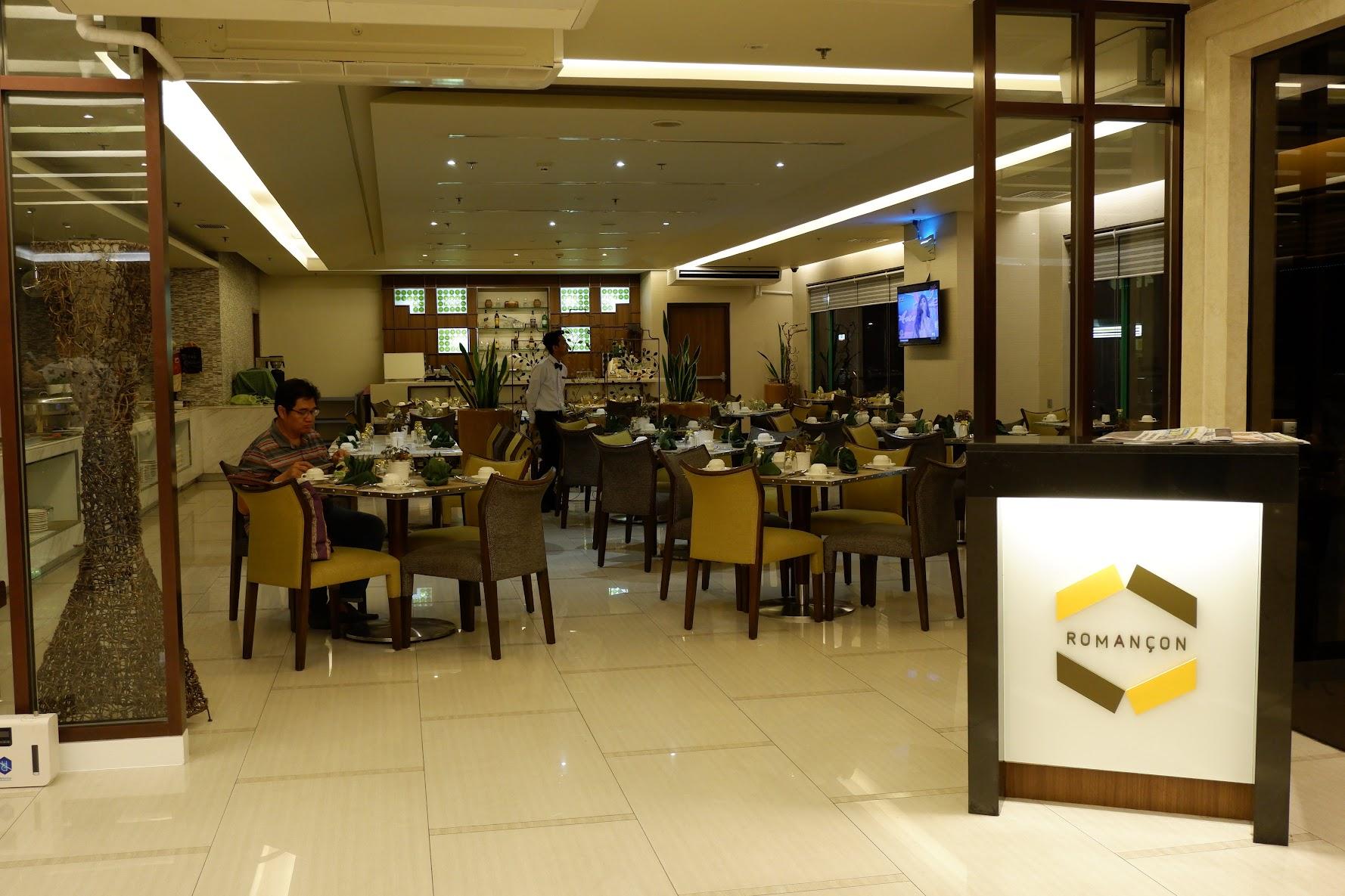 cafe romancon hotel benilde