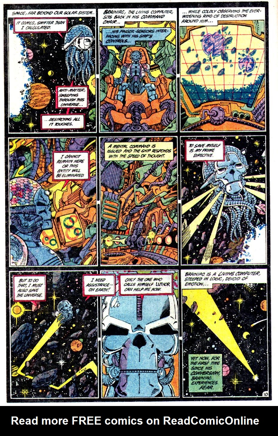 Read online Crisis on Infinite Earths (1985) comic -  Issue #3 - 11