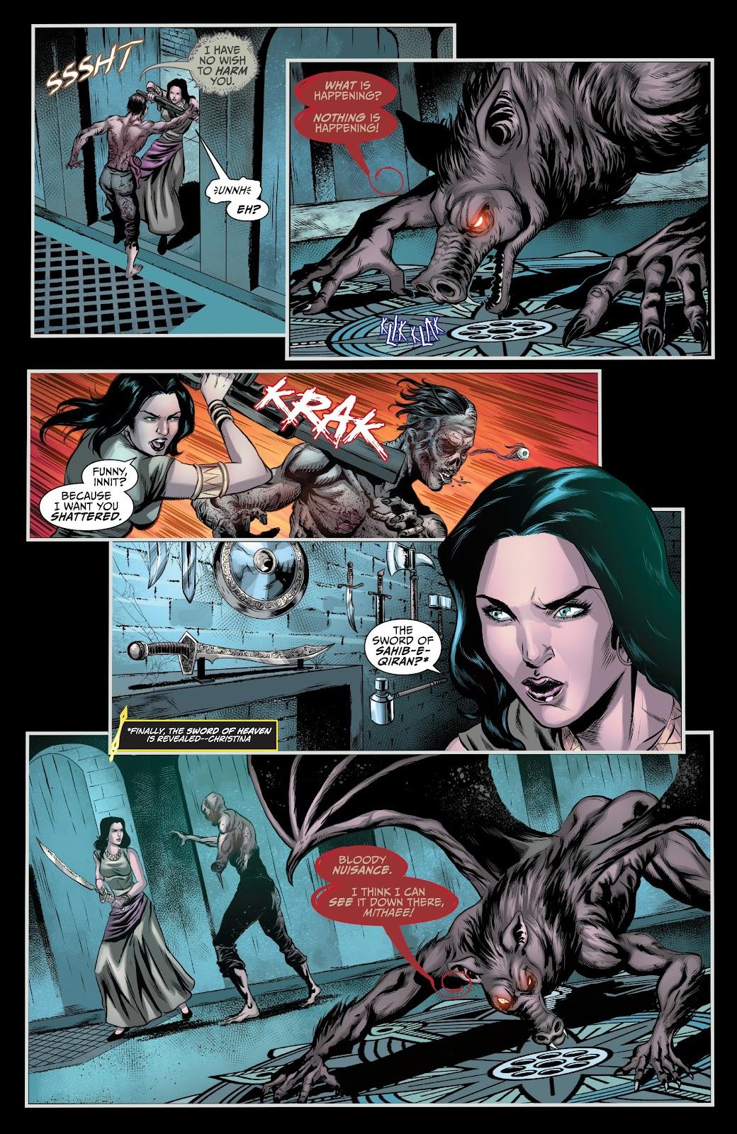 Read online Van Helsing: Sword of Heaven comic -  Issue #6 - 21