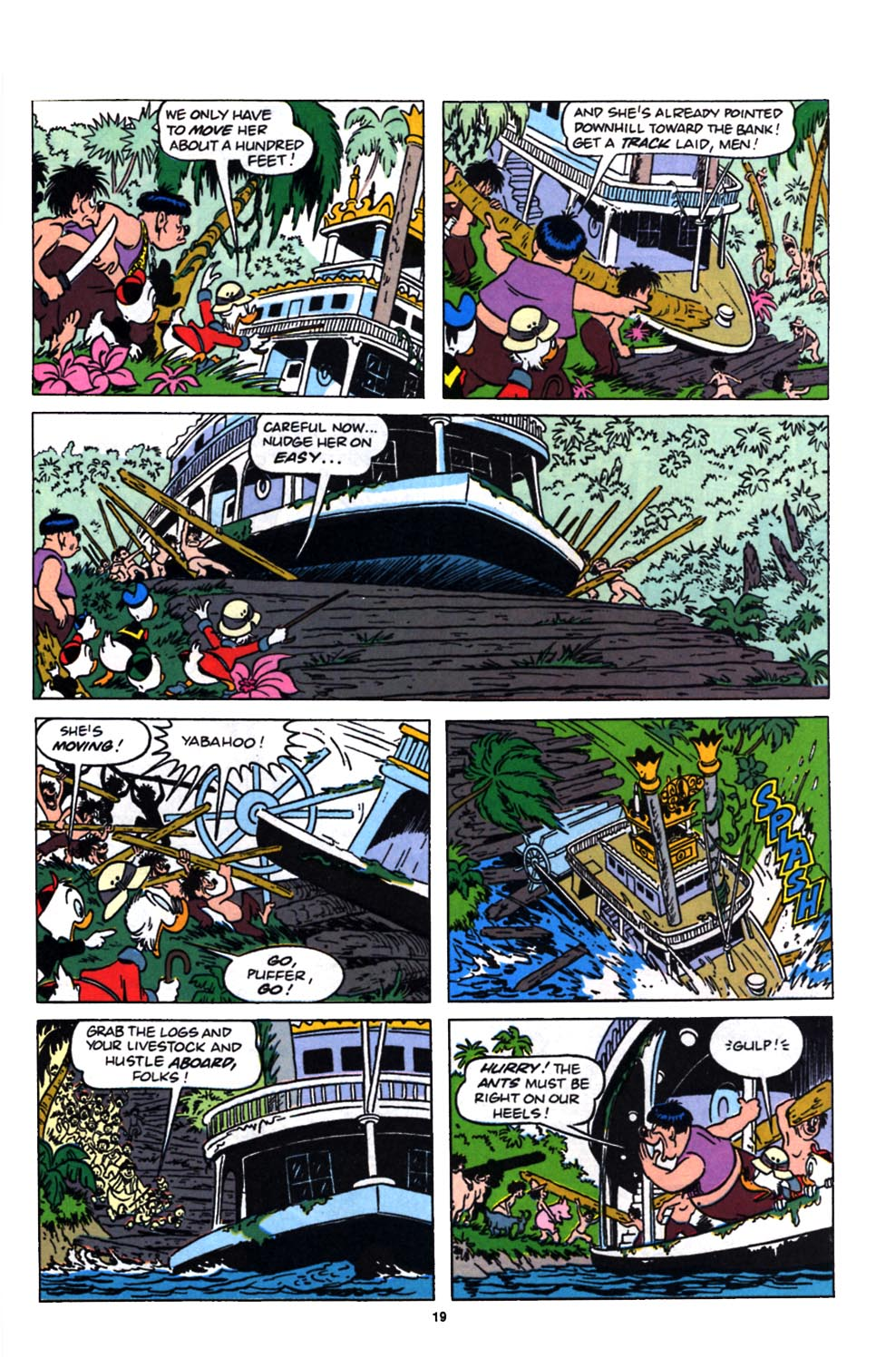 Read online Uncle Scrooge (1953) comic -  Issue #249 - 21