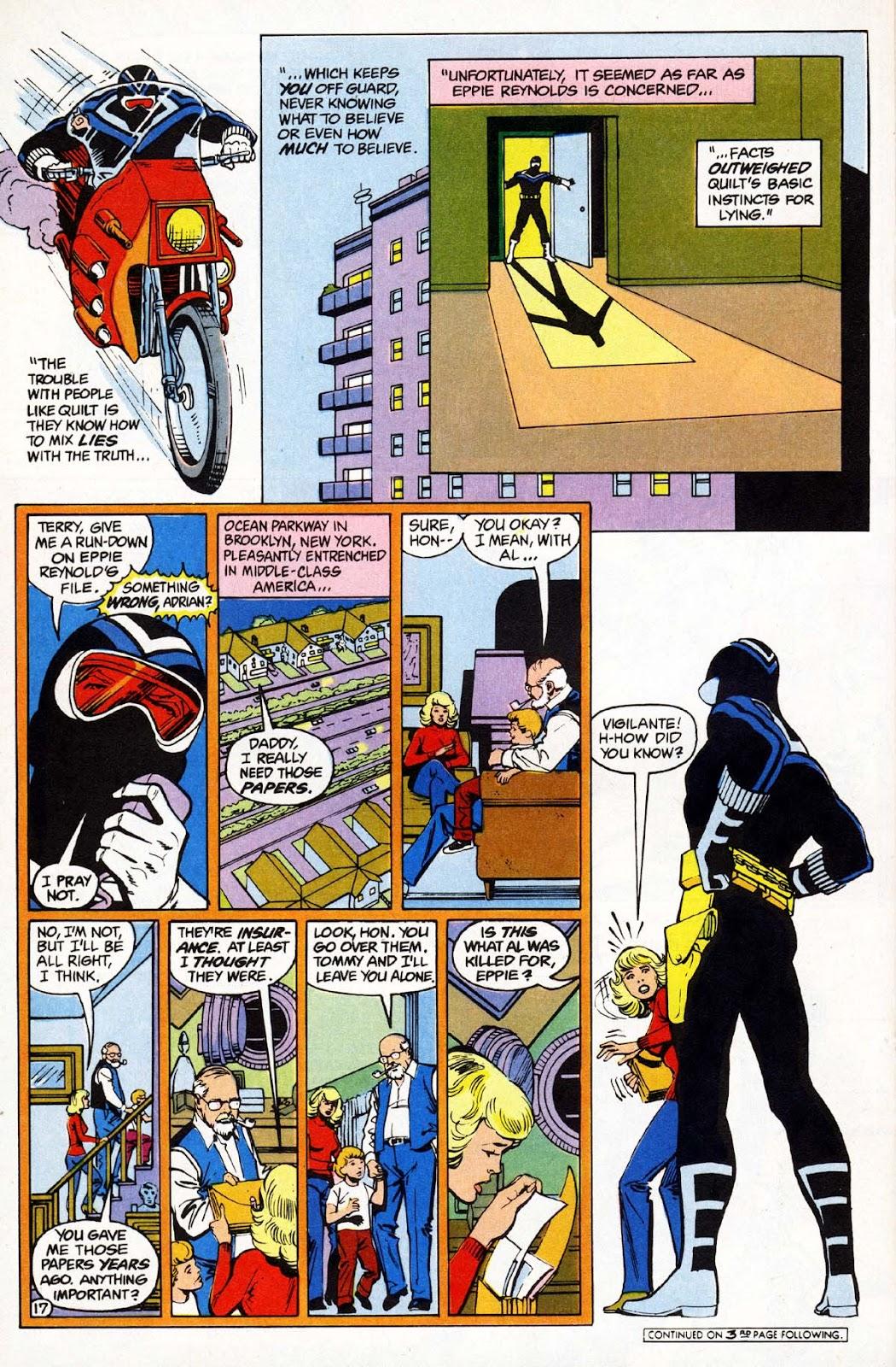 Vigilante (1983) issue 1 - Page 18