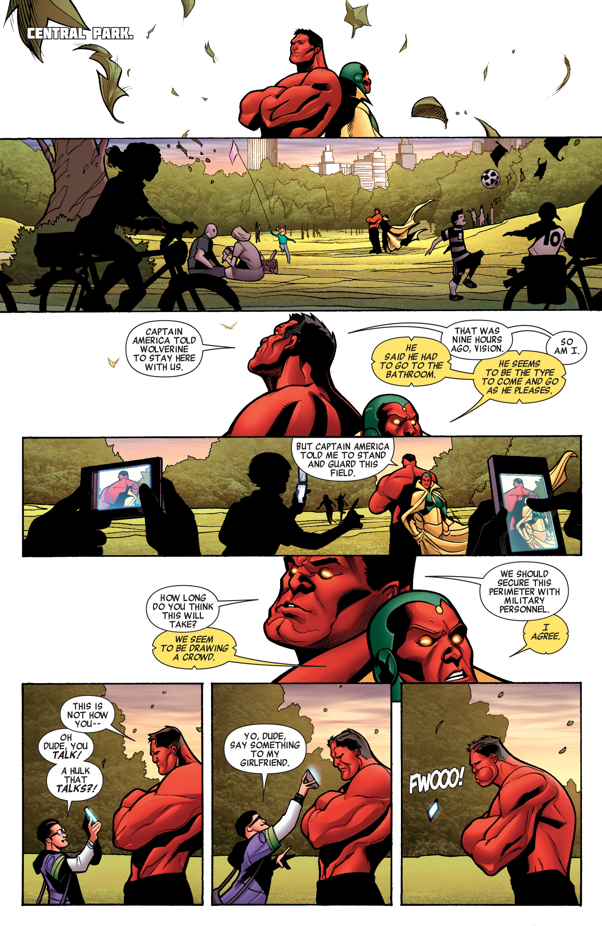 Read online Avengers (2010) comic -  Issue #33 - 12