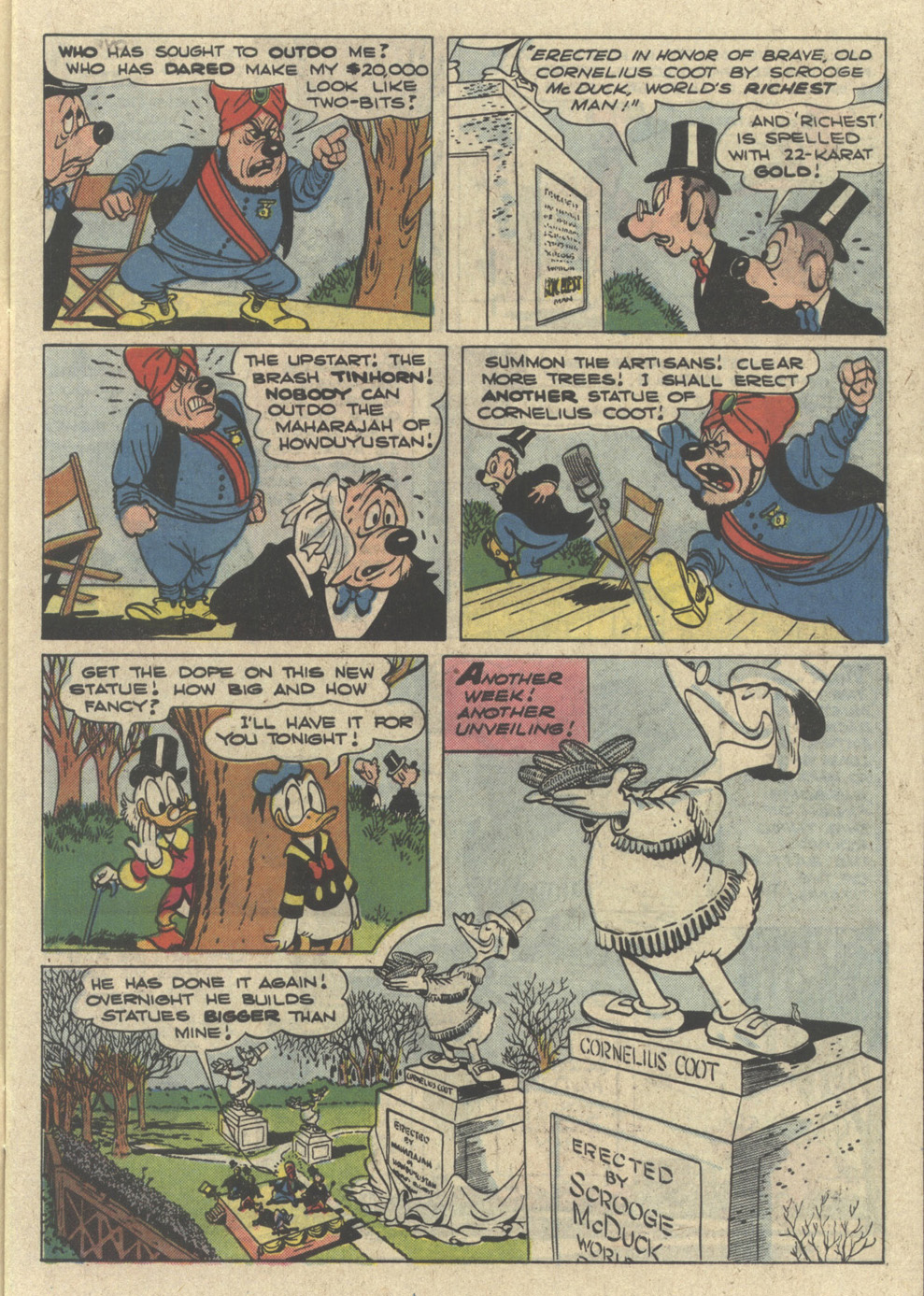 Read online Uncle Scrooge (1953) comic -  Issue #226 - 7