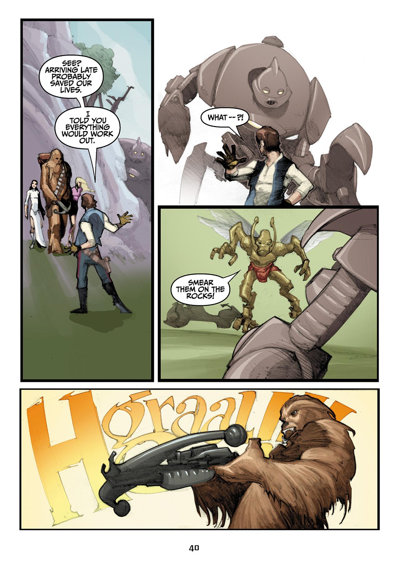 Read online Star Wars Omnibus comic -  Issue # Vol. 33 - 122