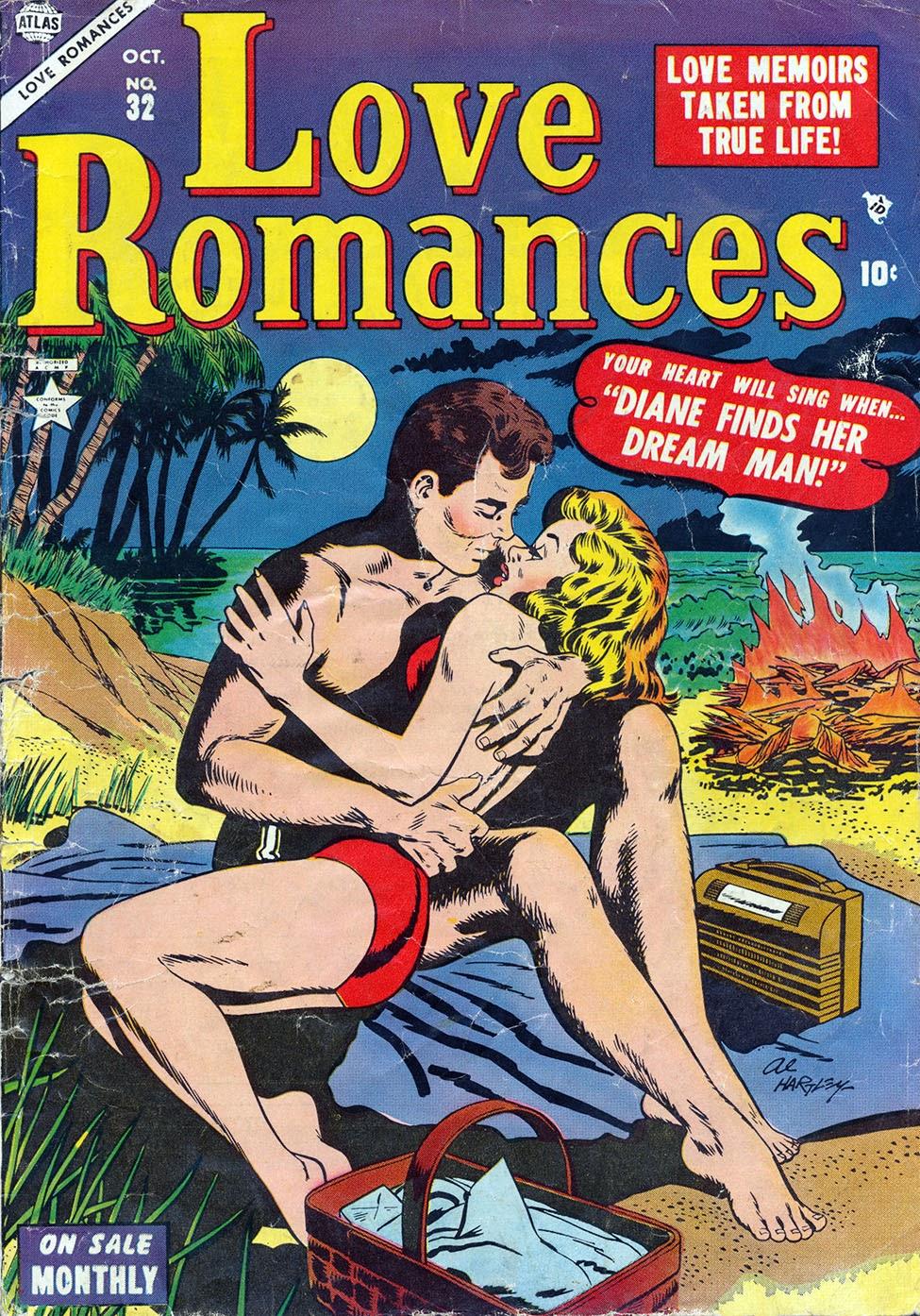 Love Romances (1949) issue 32 - Page 1