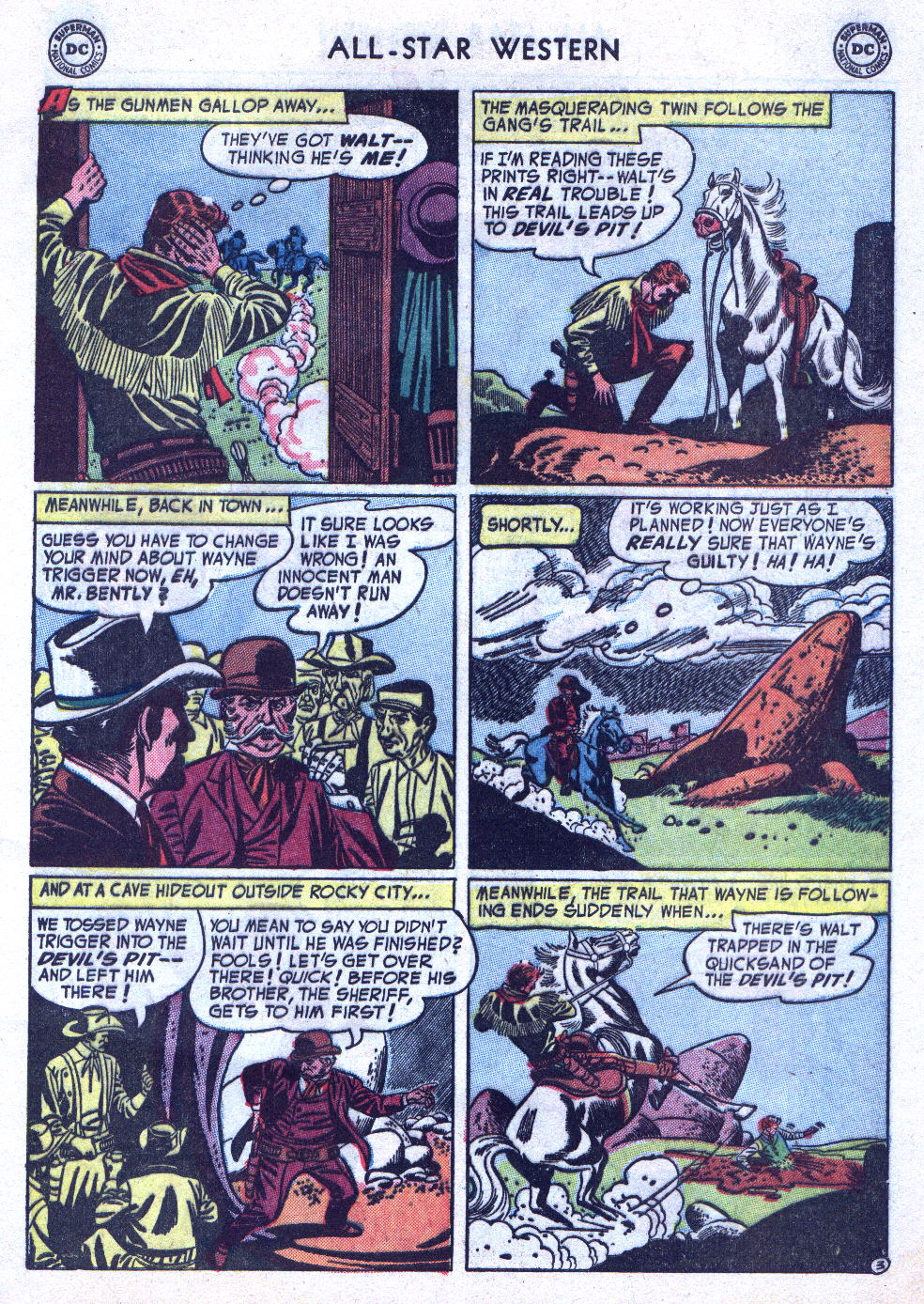 Read online All-Star Western (1951) comic -  Issue #76 - 5