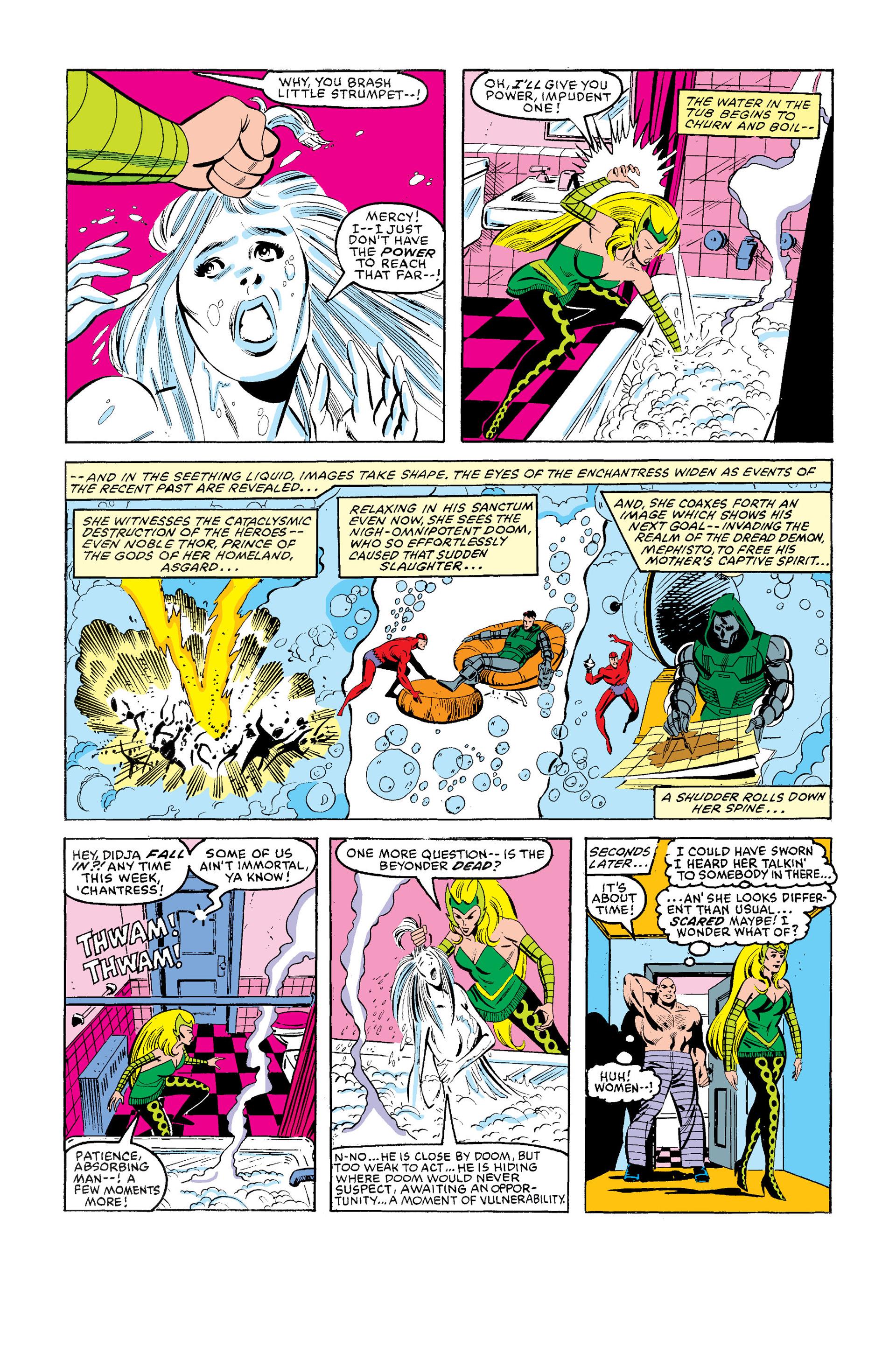 Read online Secret Wars (1985) comic -  Issue #12 - 8