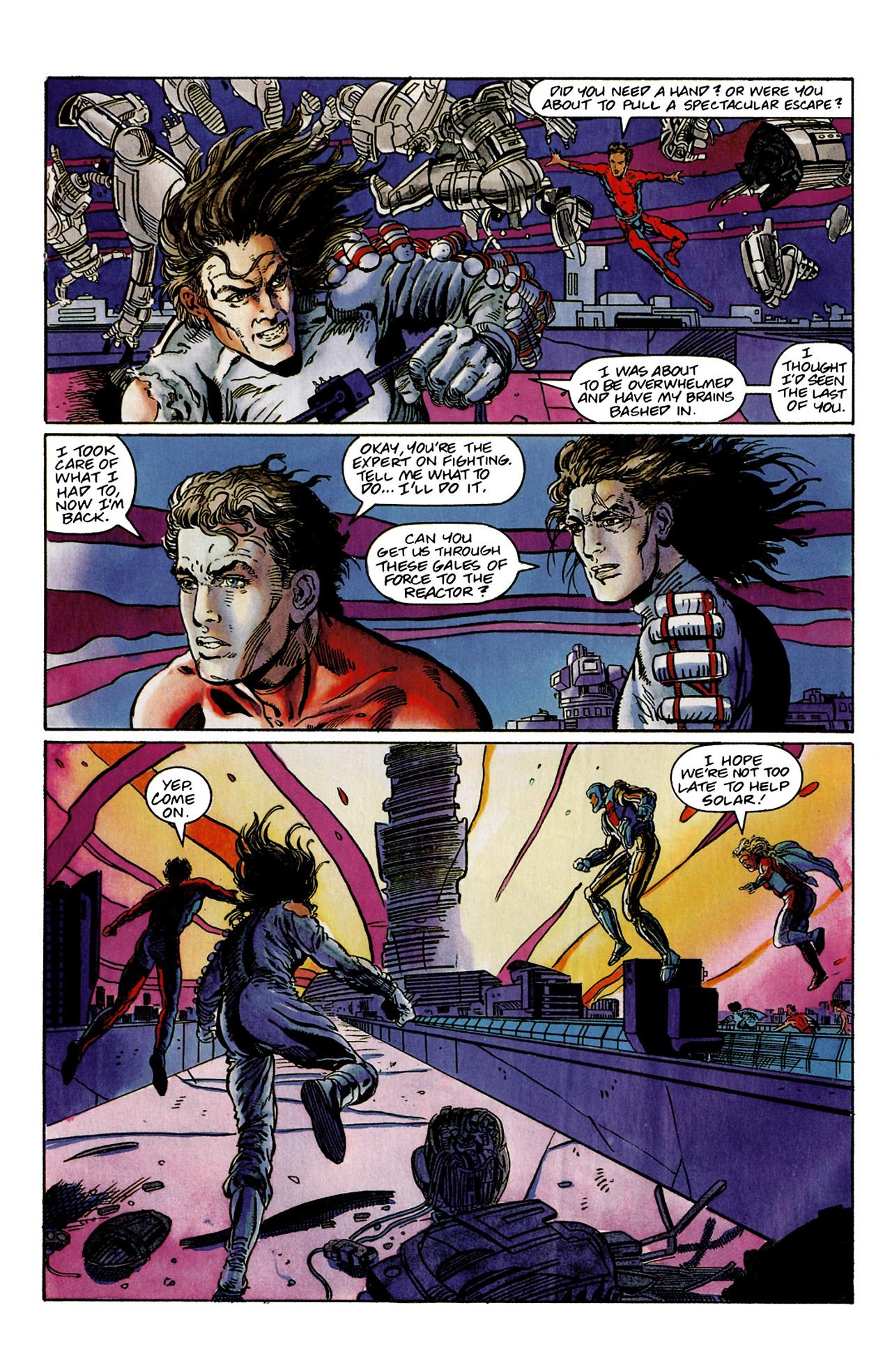 Read online Harbinger (1992) comic -  Issue #9 - 23
