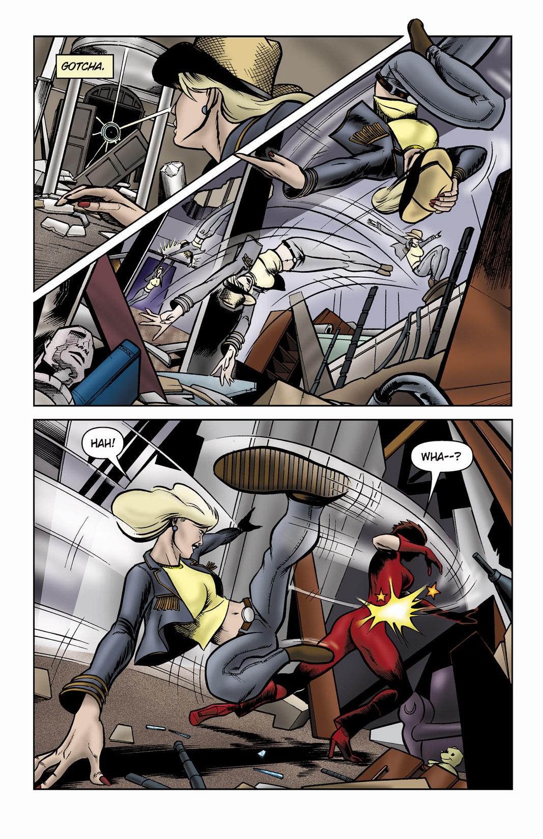 Read online SideChicks comic -  Issue #3 - 25