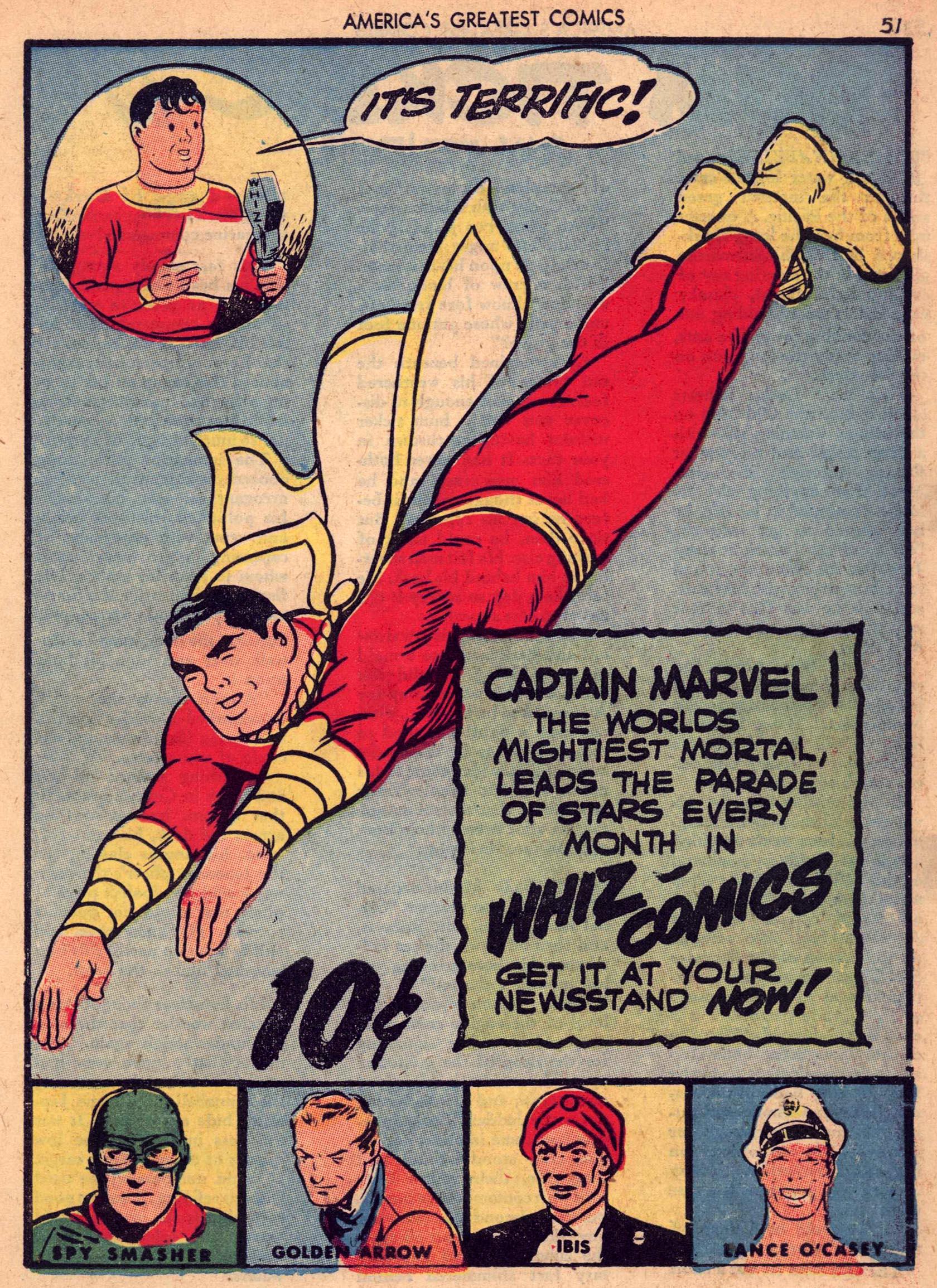 Read online America's Greatest Comics comic -  Issue #7 - 50