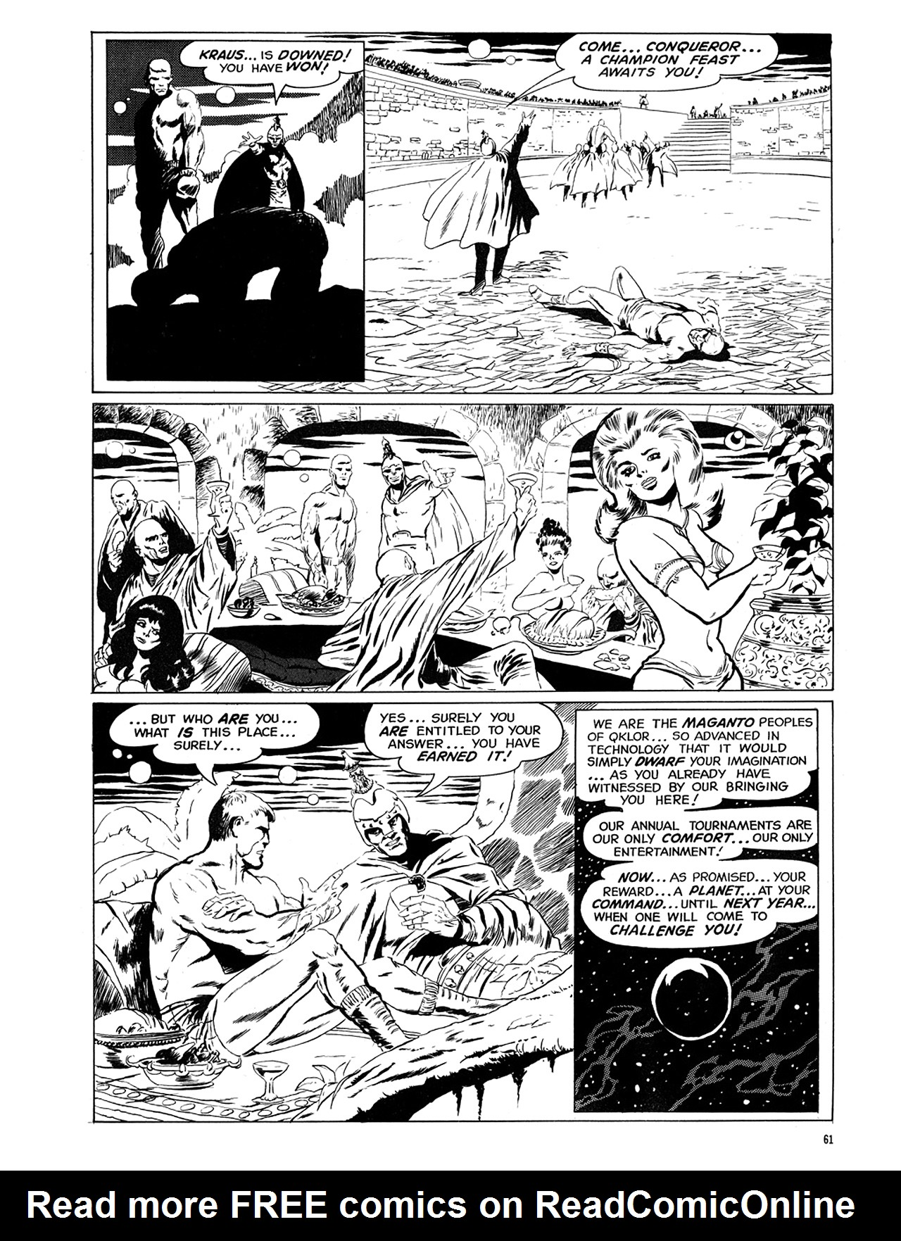 Read online Eerie Archives comic -  Issue # TPB 6 - 62