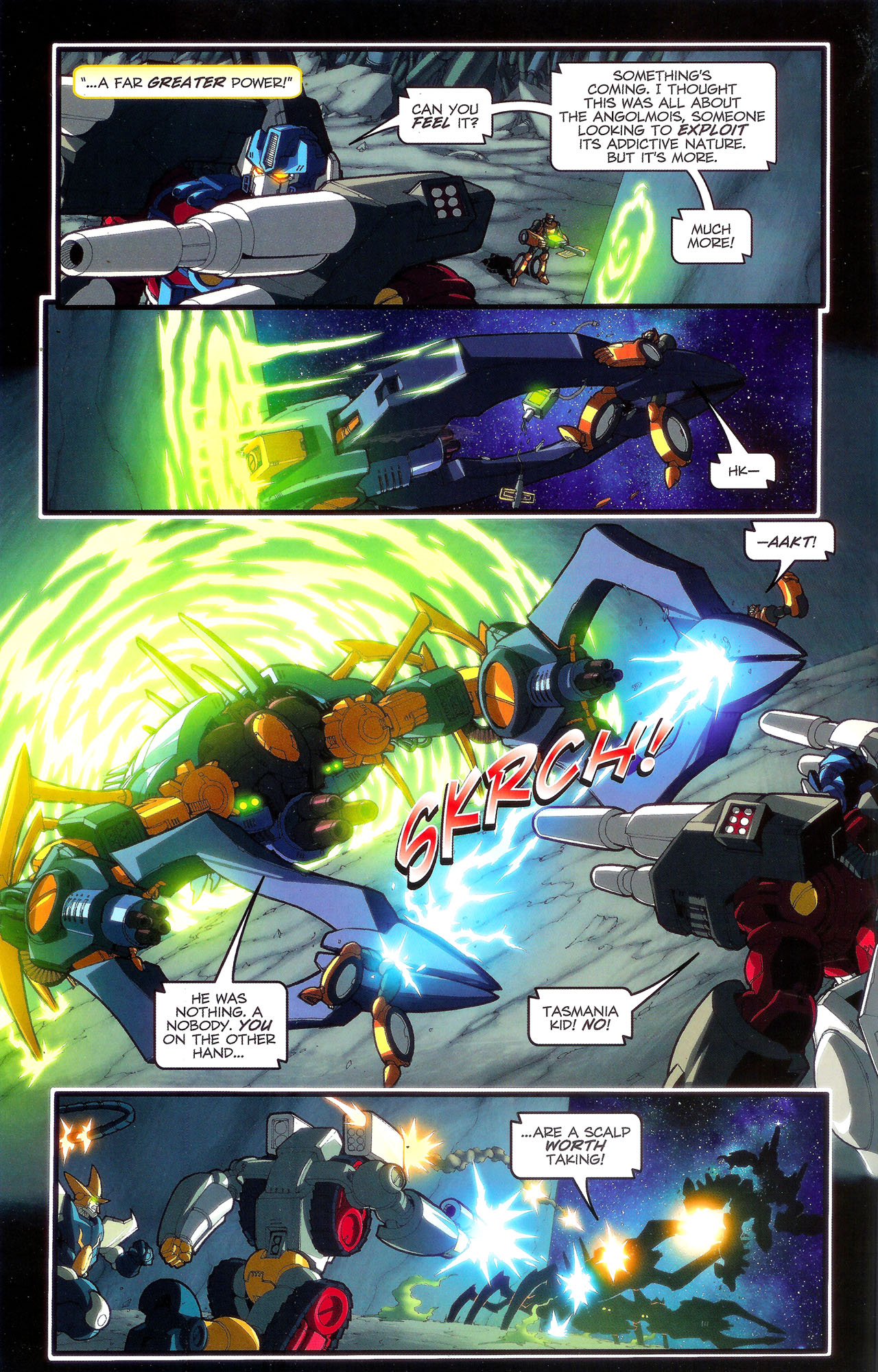 Read online Transformers: Beast Wars: The Ascending comic -  Issue #3 - 7