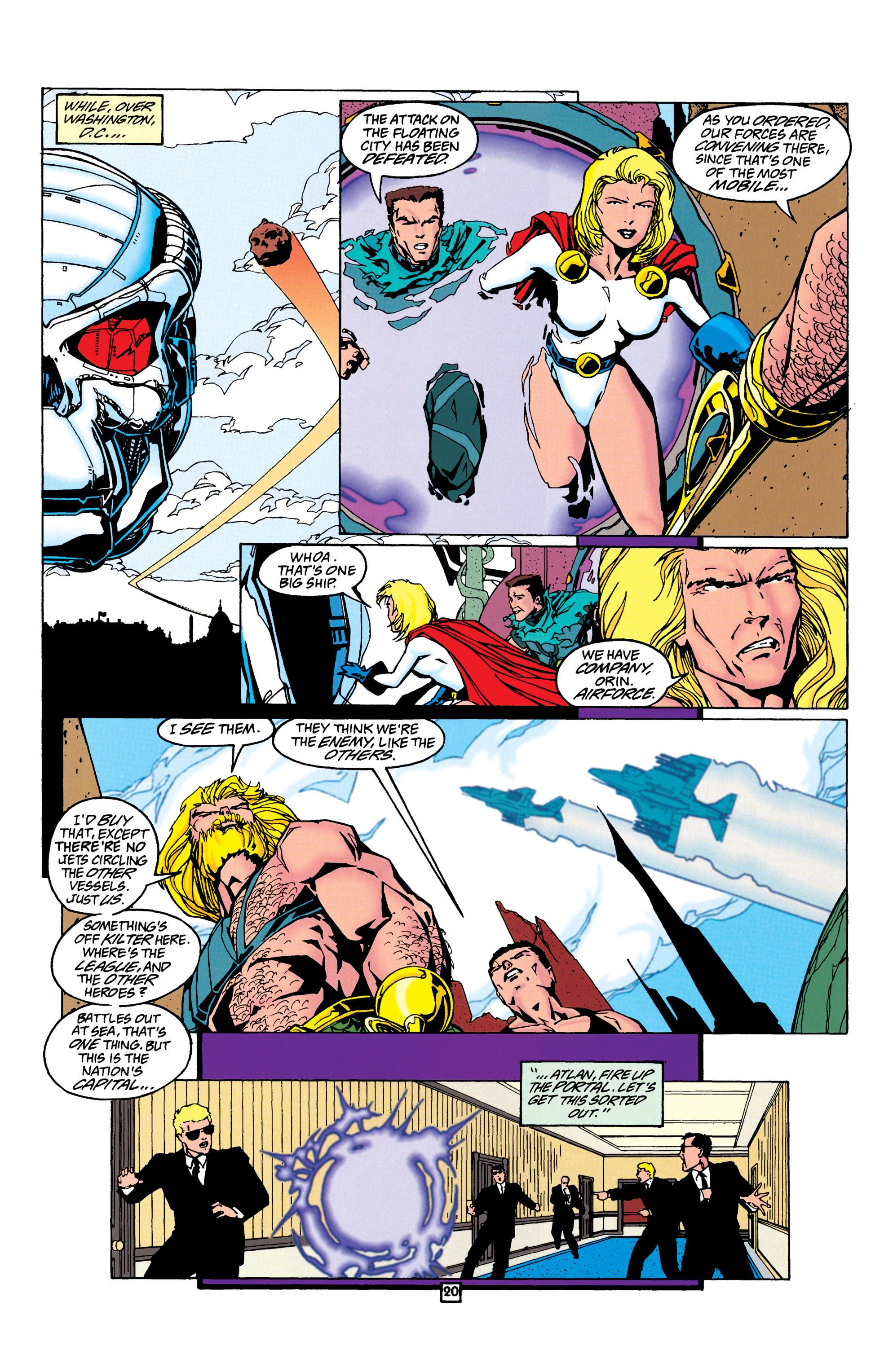 Read online Aquaman (1994) comic -  Issue #24 - 21