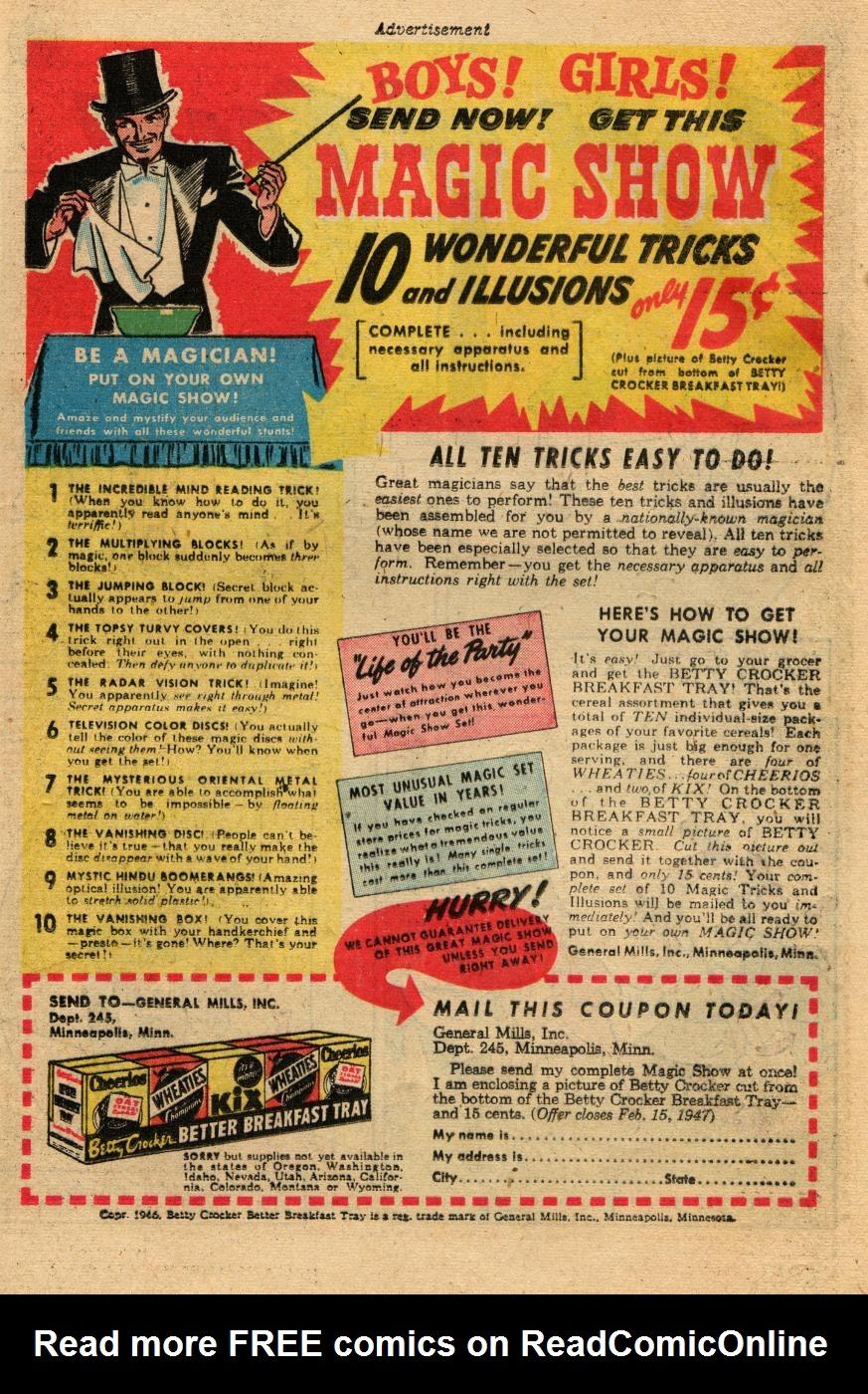 Read online Sensation (Mystery) Comics comic -  Issue #61 - 31