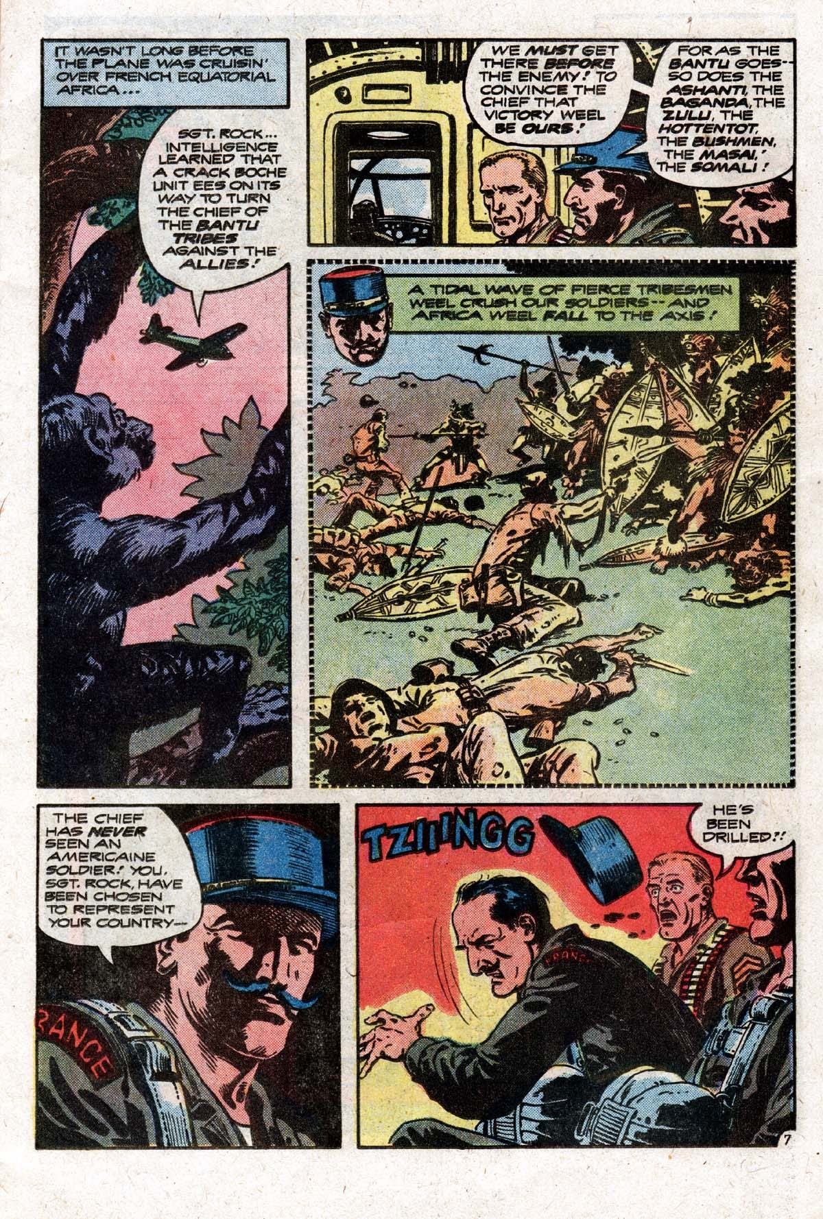 Read online Sgt. Rock comic -  Issue #319 - 10