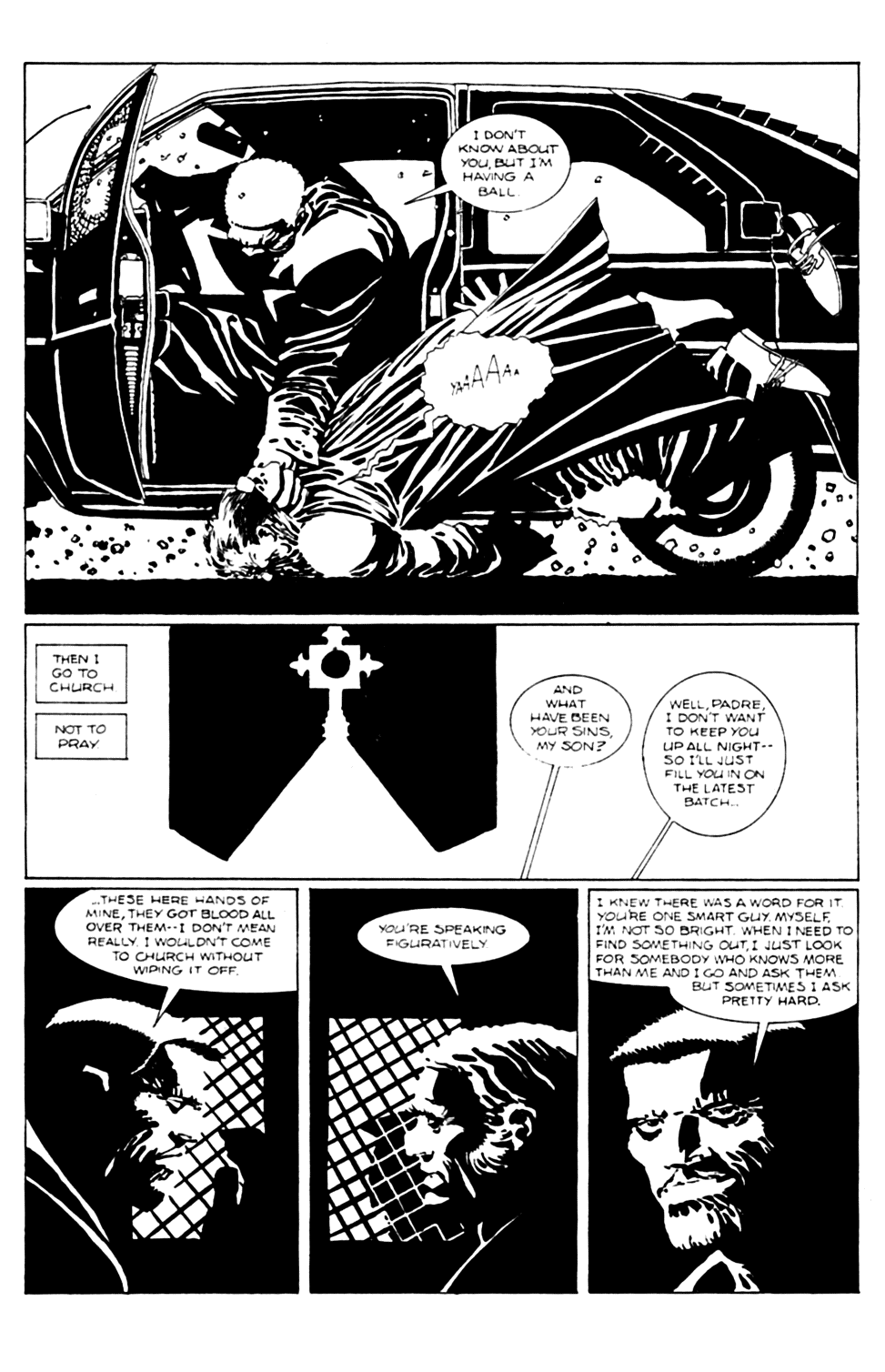 Read online Sin City comic -  Issue #6 - 6