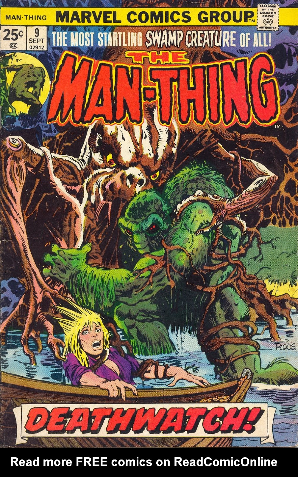 Man-Thing (1974) issue 9 - Page 1