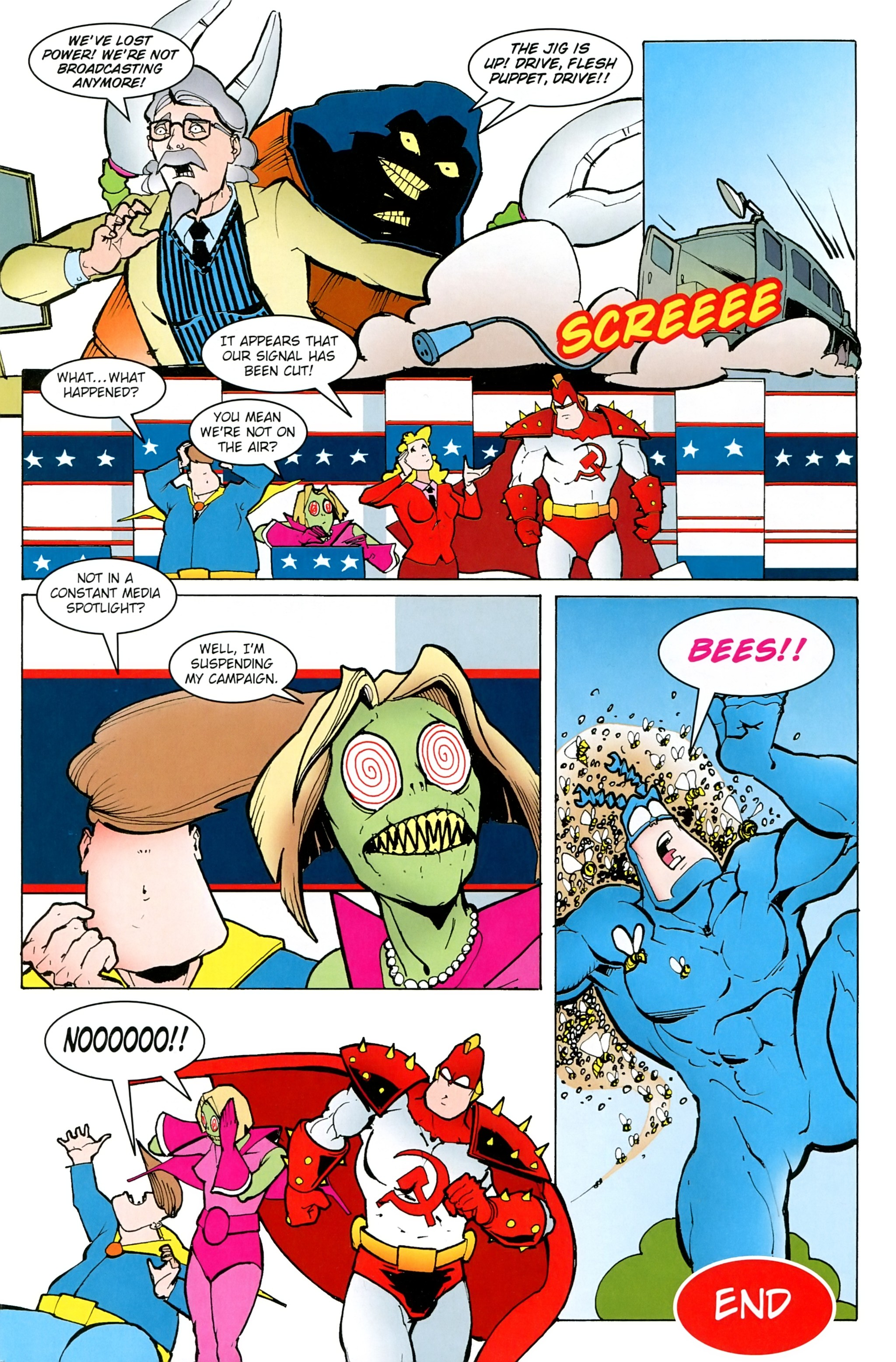 Read online Free Comic Book Day 2017 comic -  Issue # The Tick - 31