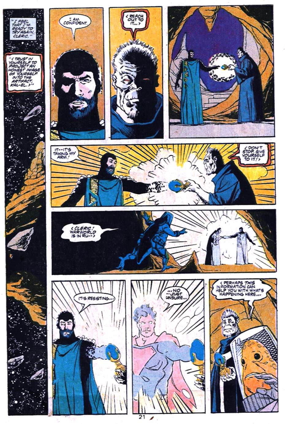 Read online Adventures of Superman (1987) comic -  Issue #455 - 22