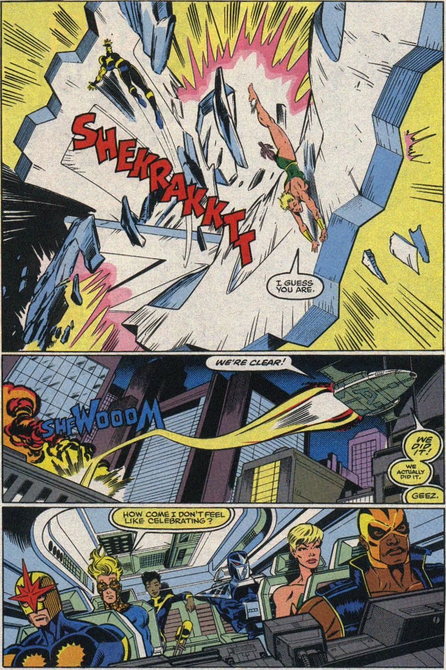 The New Warriors Issue #22 #26 - English 19