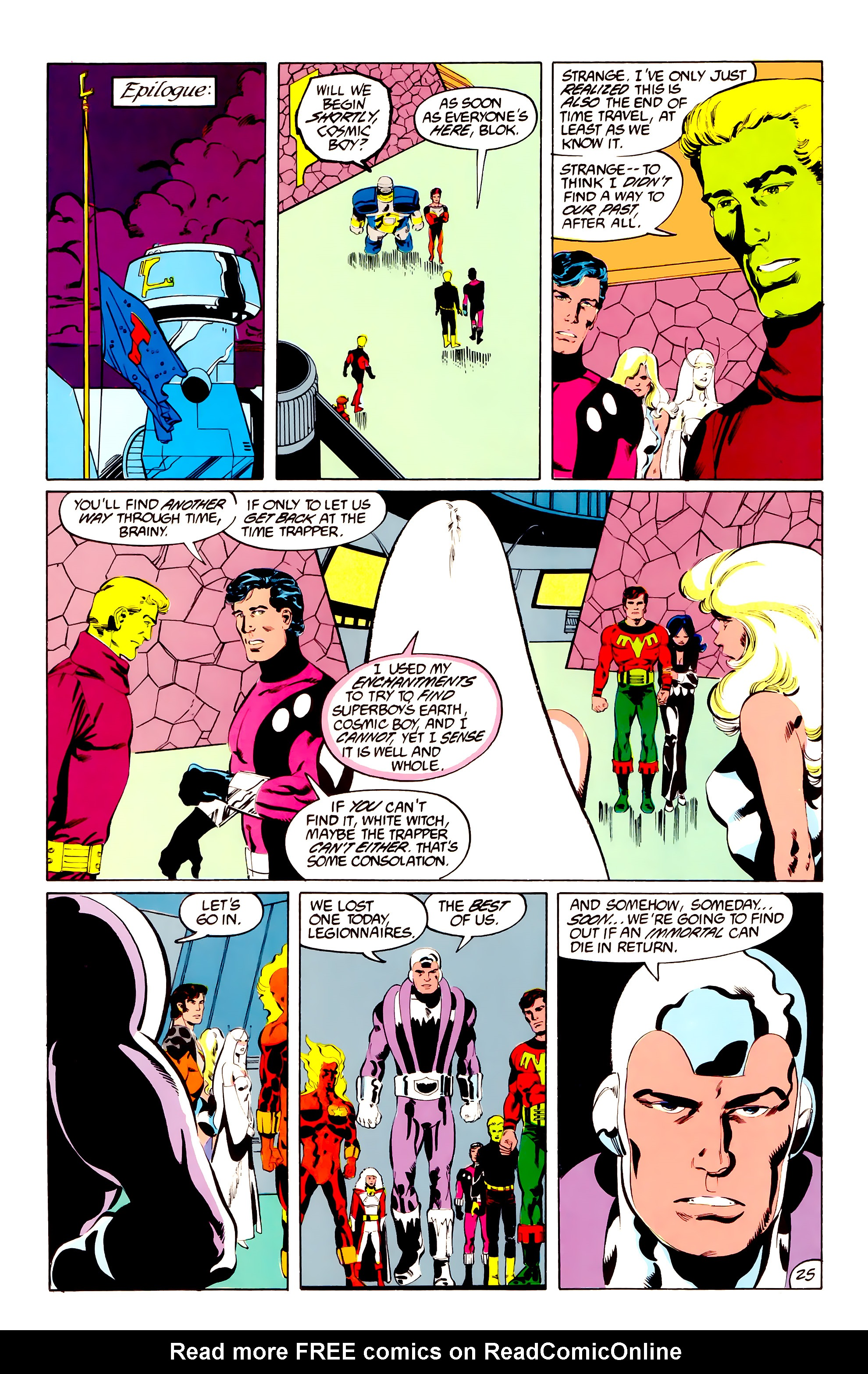 Legion of Super-Heroes (1984) 38 Page 25