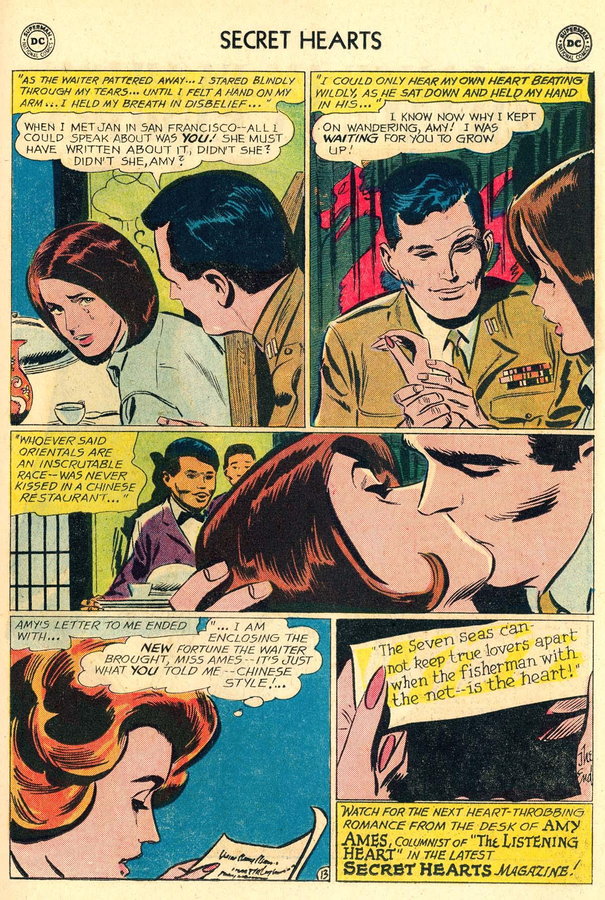 Read online Secret Hearts comic -  Issue #106 - 15