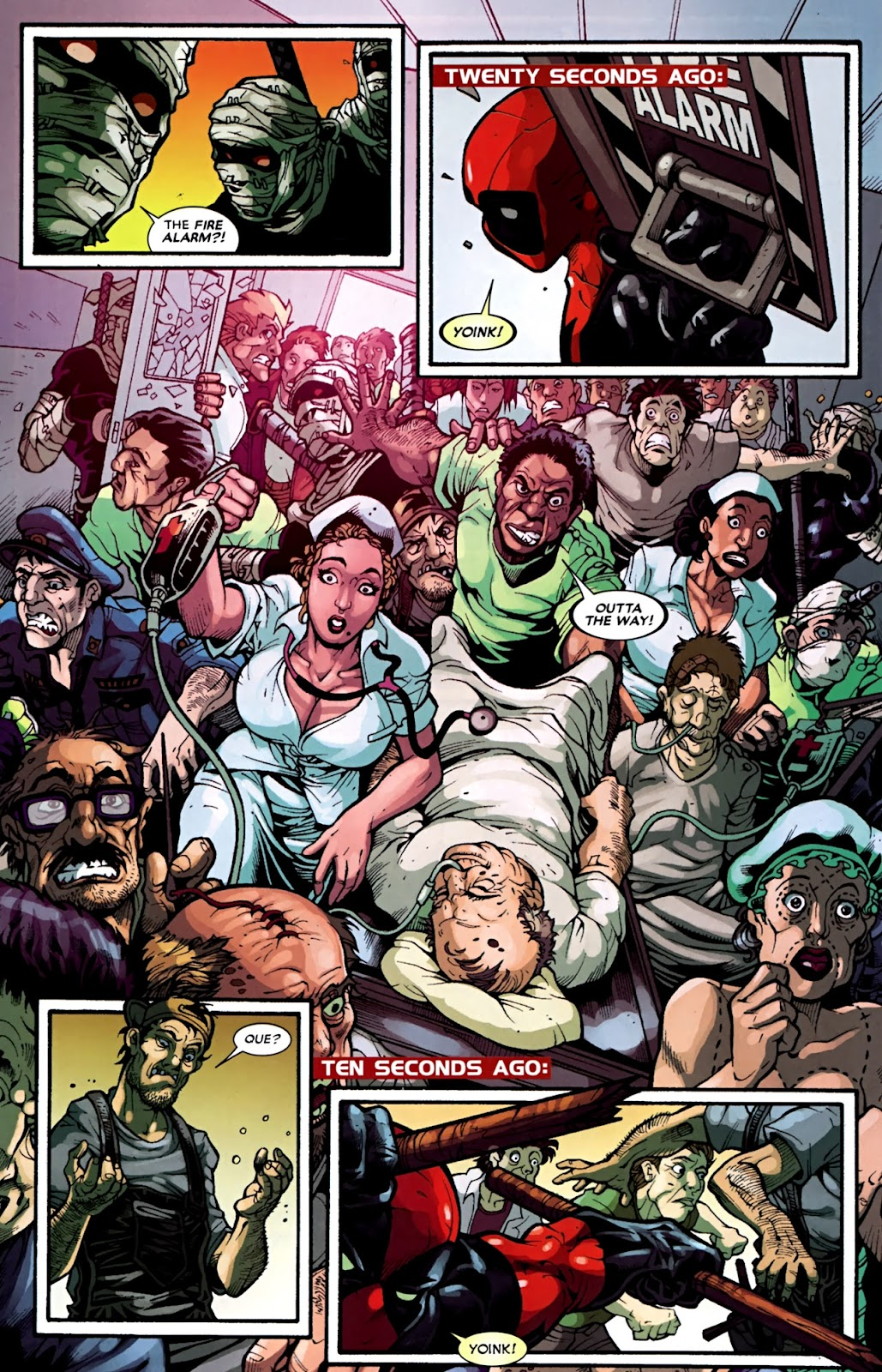 Read online Deadpool (2008) comic -  Issue #31 - 12
