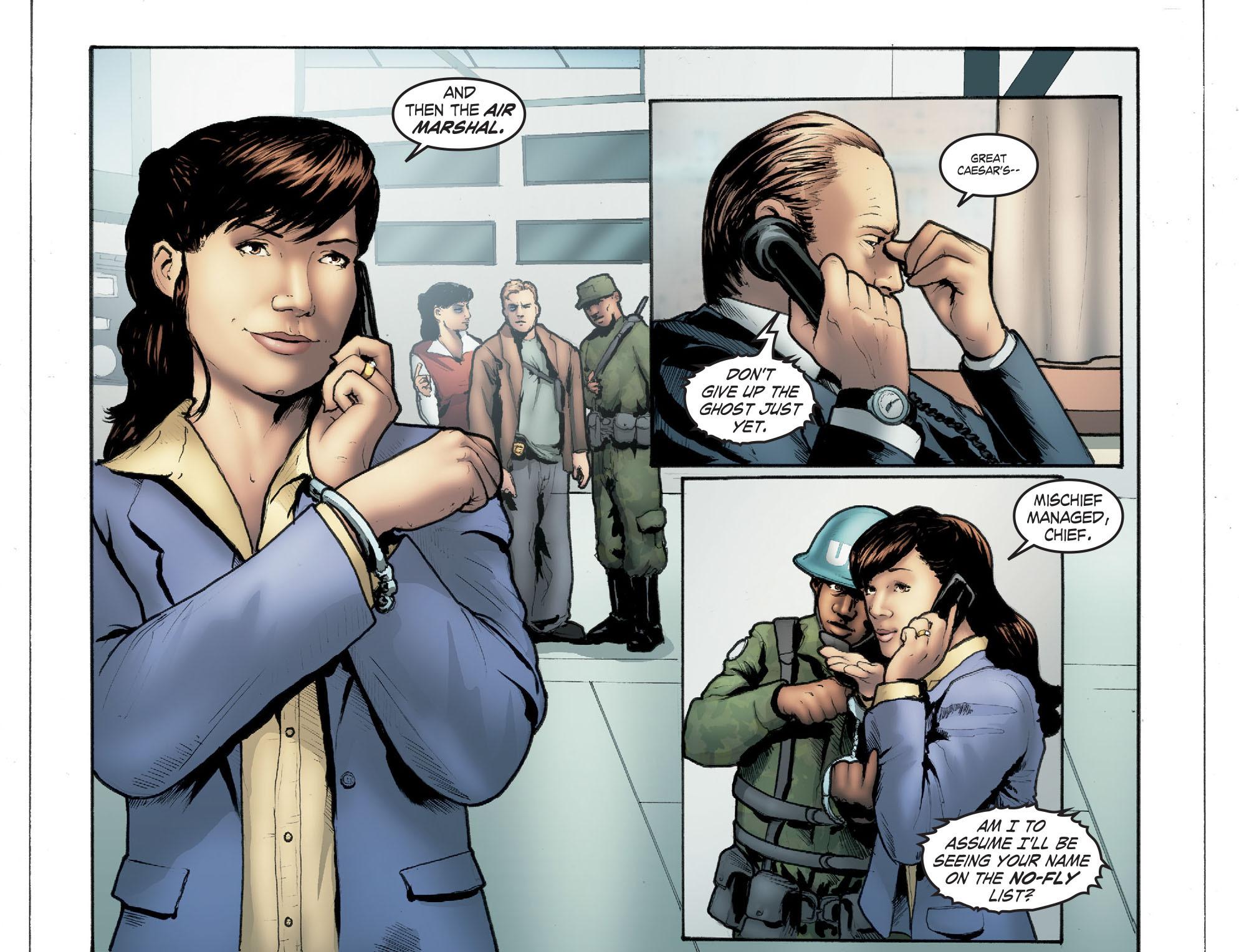 Read online Smallville: Season 11 comic -  Issue #41 - 11