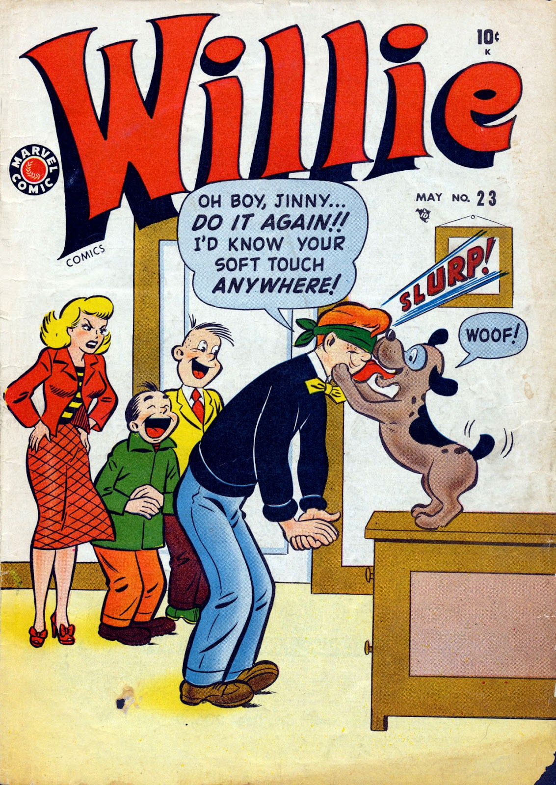 Willie Comics (1950) issue 23 - Page 1