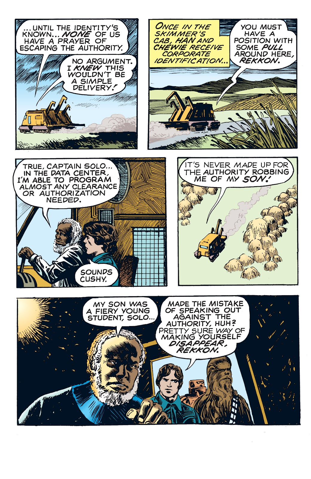 Read online Star Wars Legends: The Newspaper Strips - Epic Collection comic -  Issue # TPB (Part 4) - 24