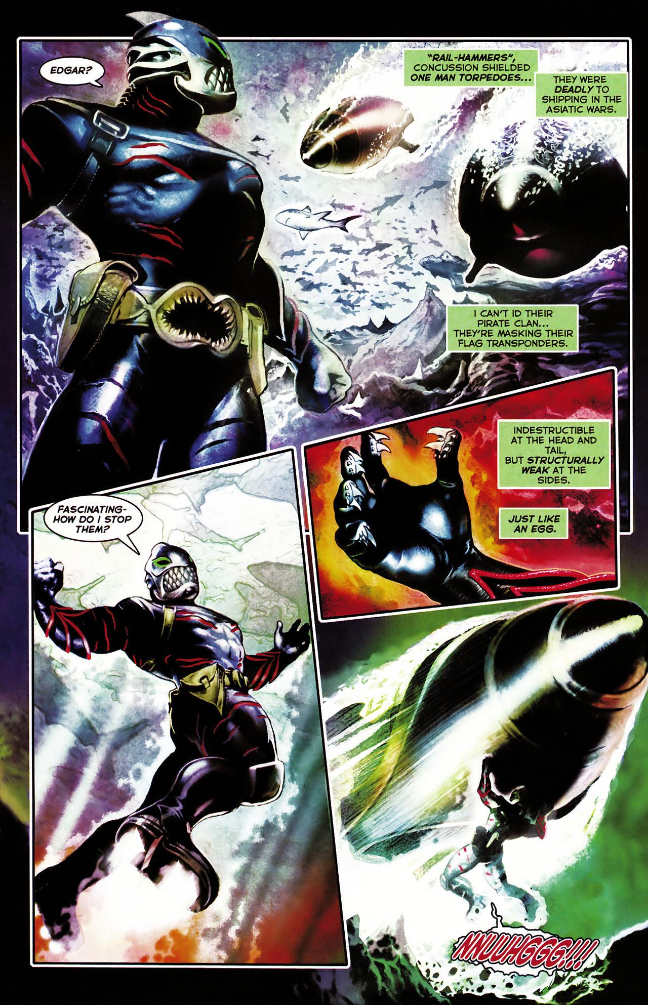Read online Shark-Man comic -  Issue #1 - 15