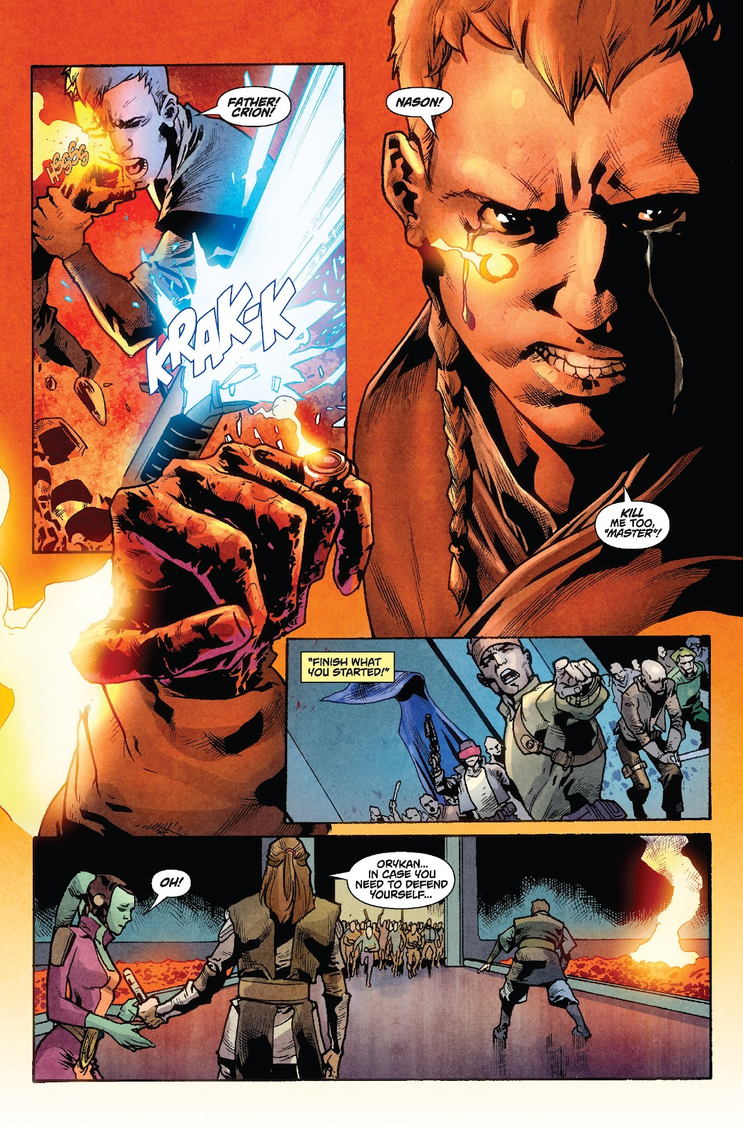 Read online Star Wars Legends: Rise of the Sith - Epic Collection comic -  Issue # TPB 1 (Part 2) - 96