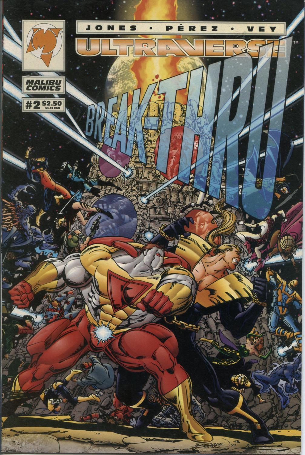 Read online Break-Thru comic -  Issue #2 - 1