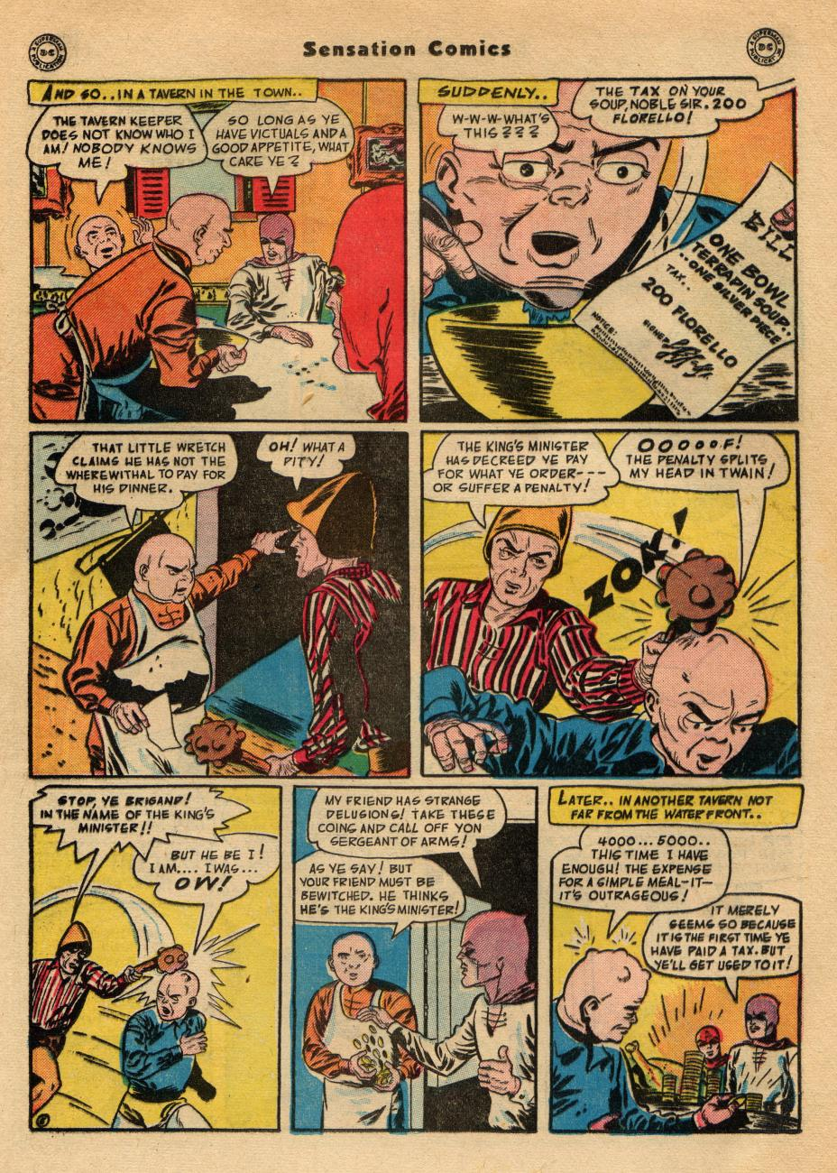 Read online Sensation (Mystery) Comics comic -  Issue #49 - 35