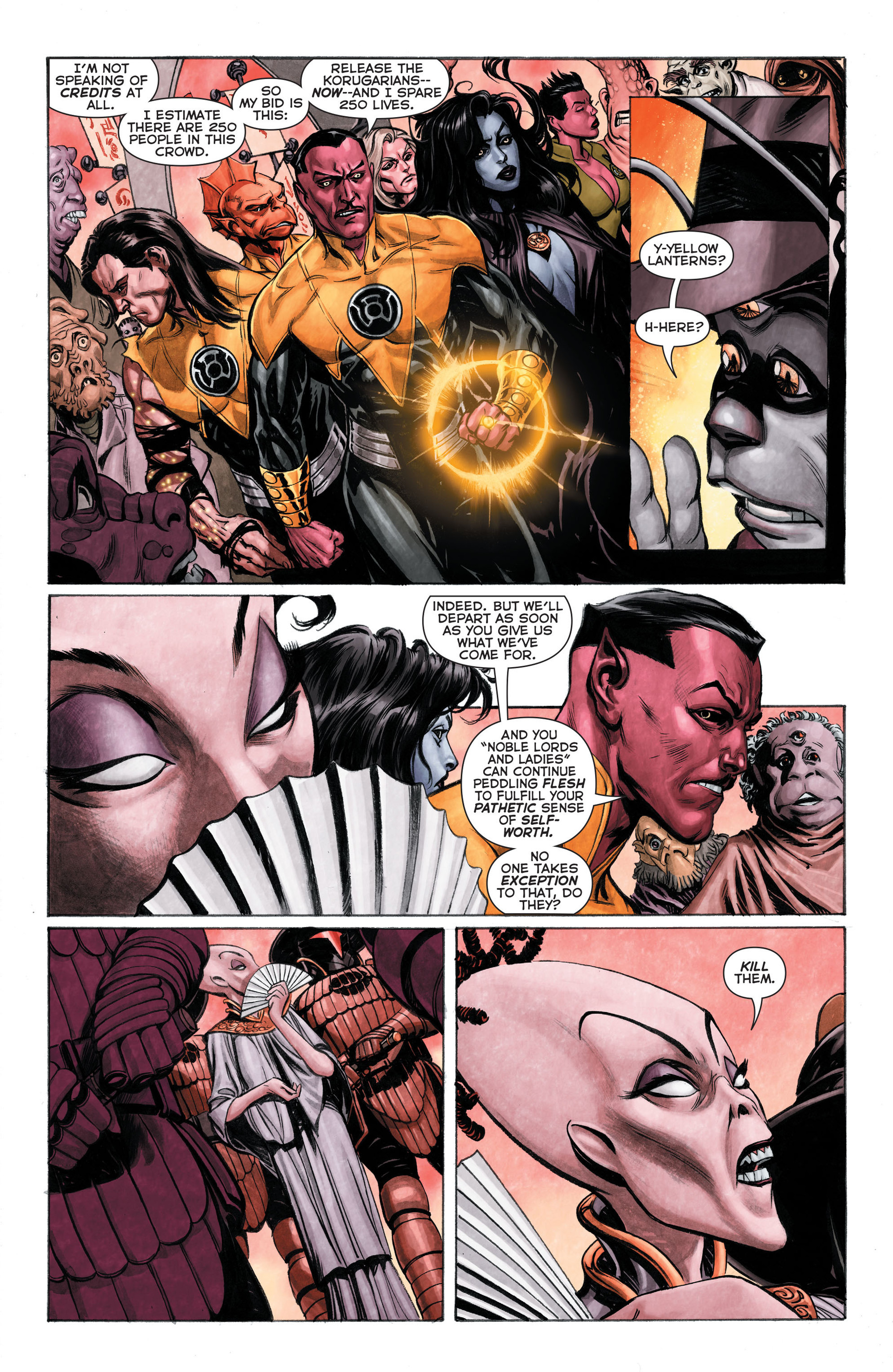 Read online Sinestro comic -  Issue #3 - 16