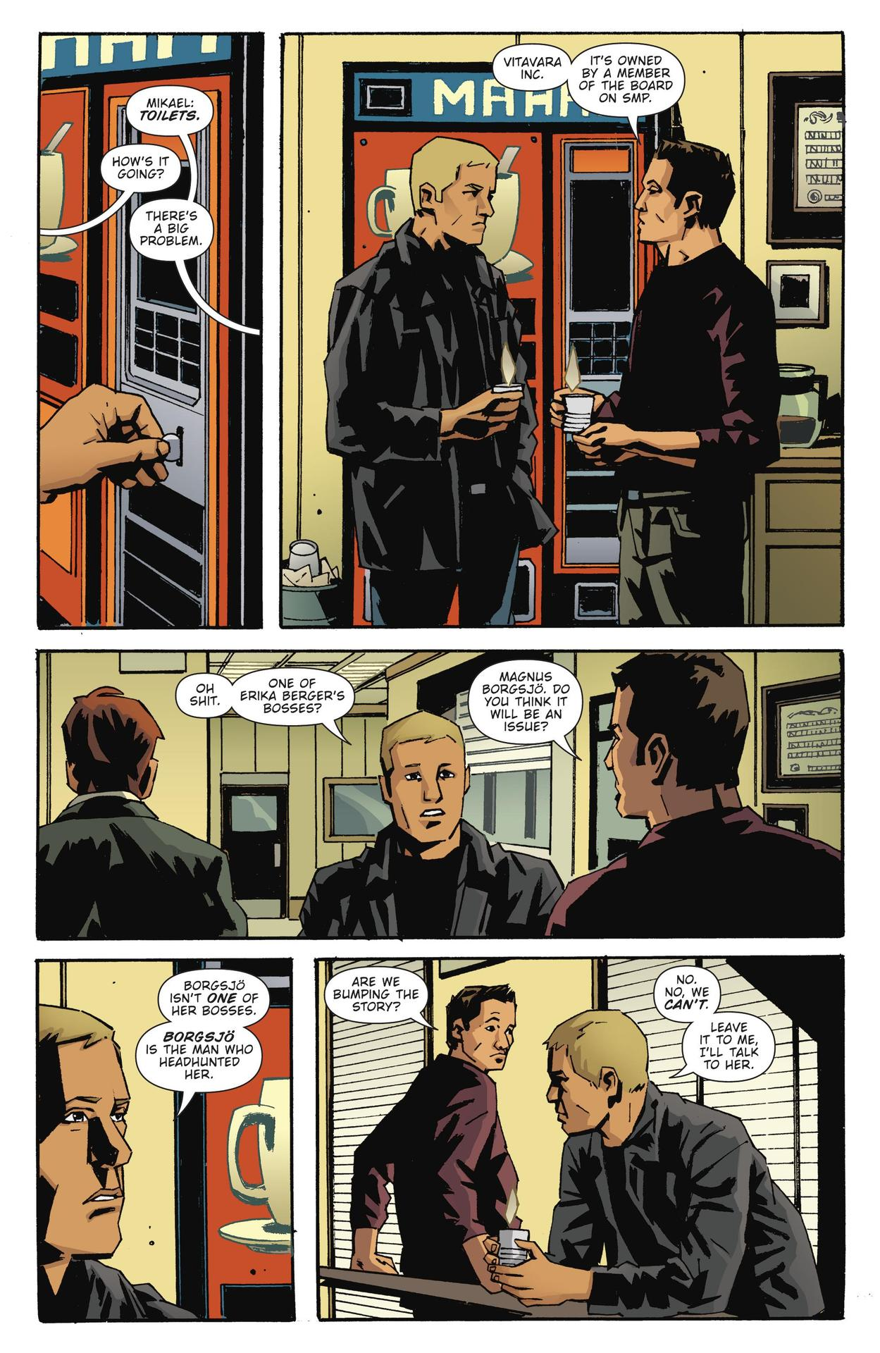Read online The Girl Who Kicked The Hornet's Nest comic -  Issue # TPB - 155