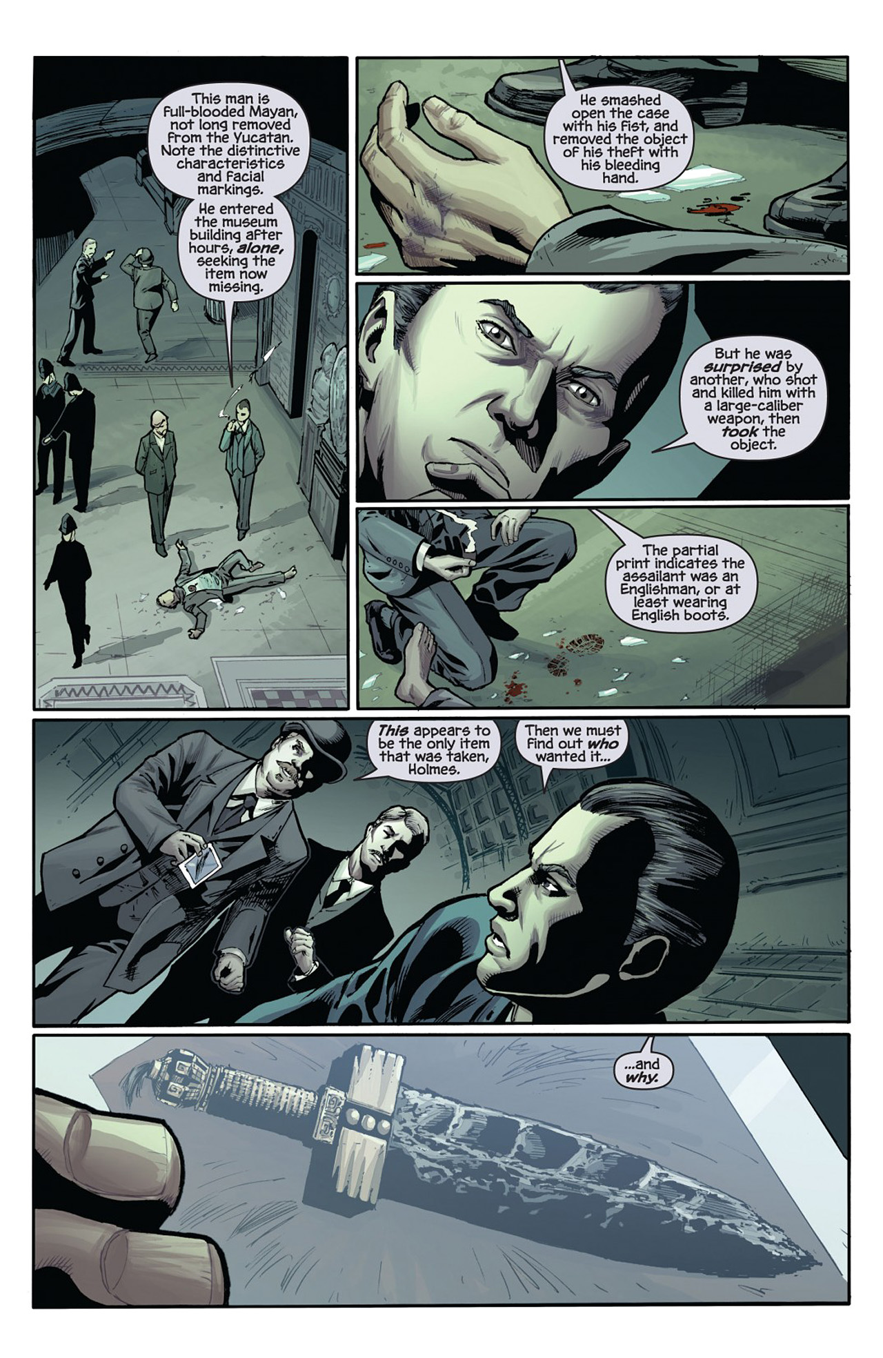 Read online Prophecy comic -  Issue #1 - 6