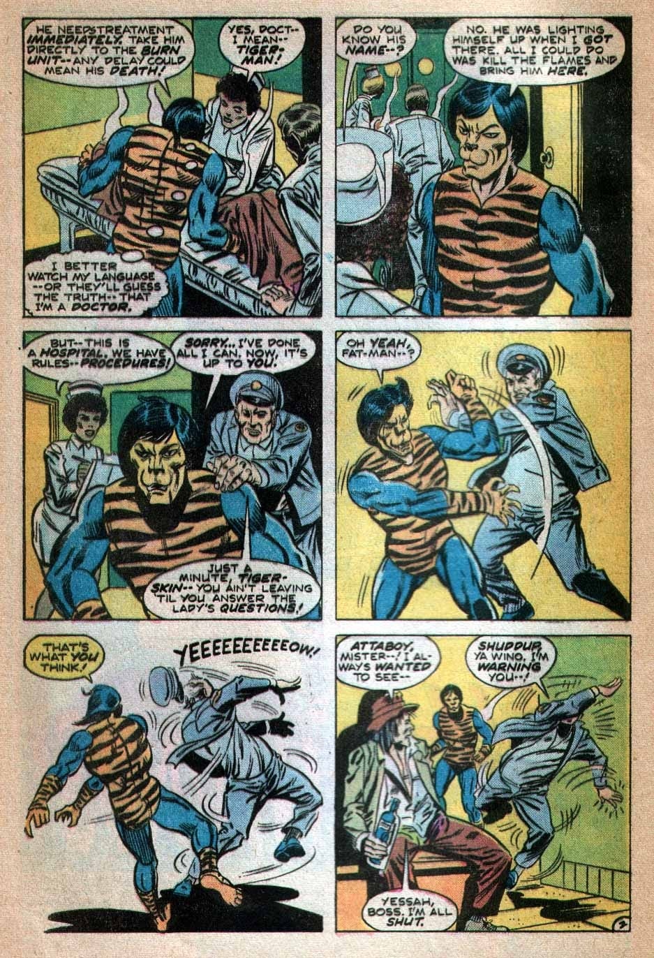 Read online Tiger-Man comic -  Issue #3 - 3